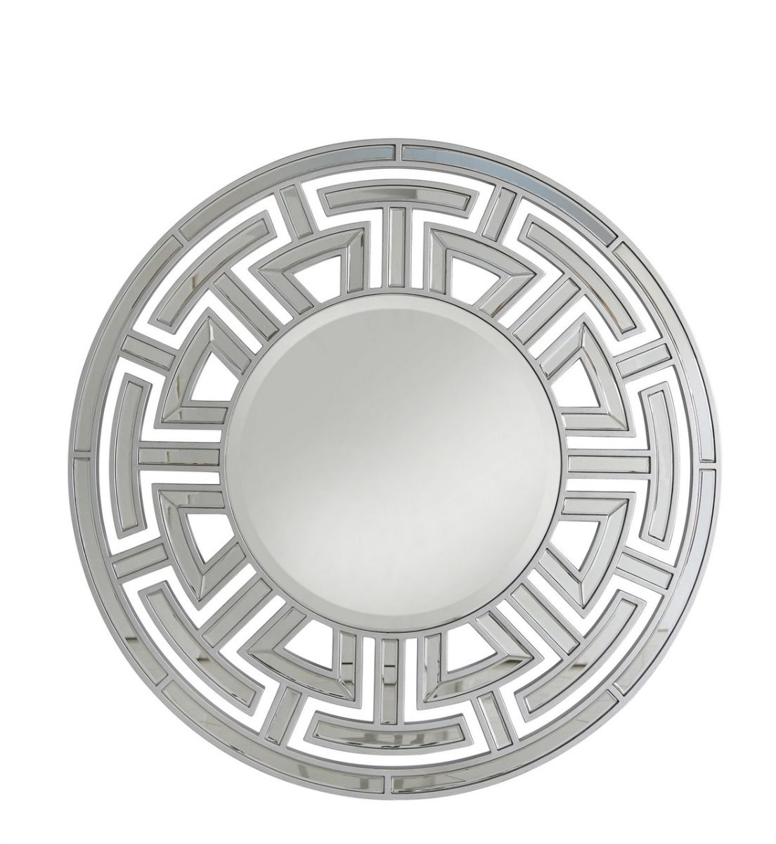 The Louis Round Wall Mirror Silver With Most Up To Date Round Silver Wall Mirrors (View 20 of 20)