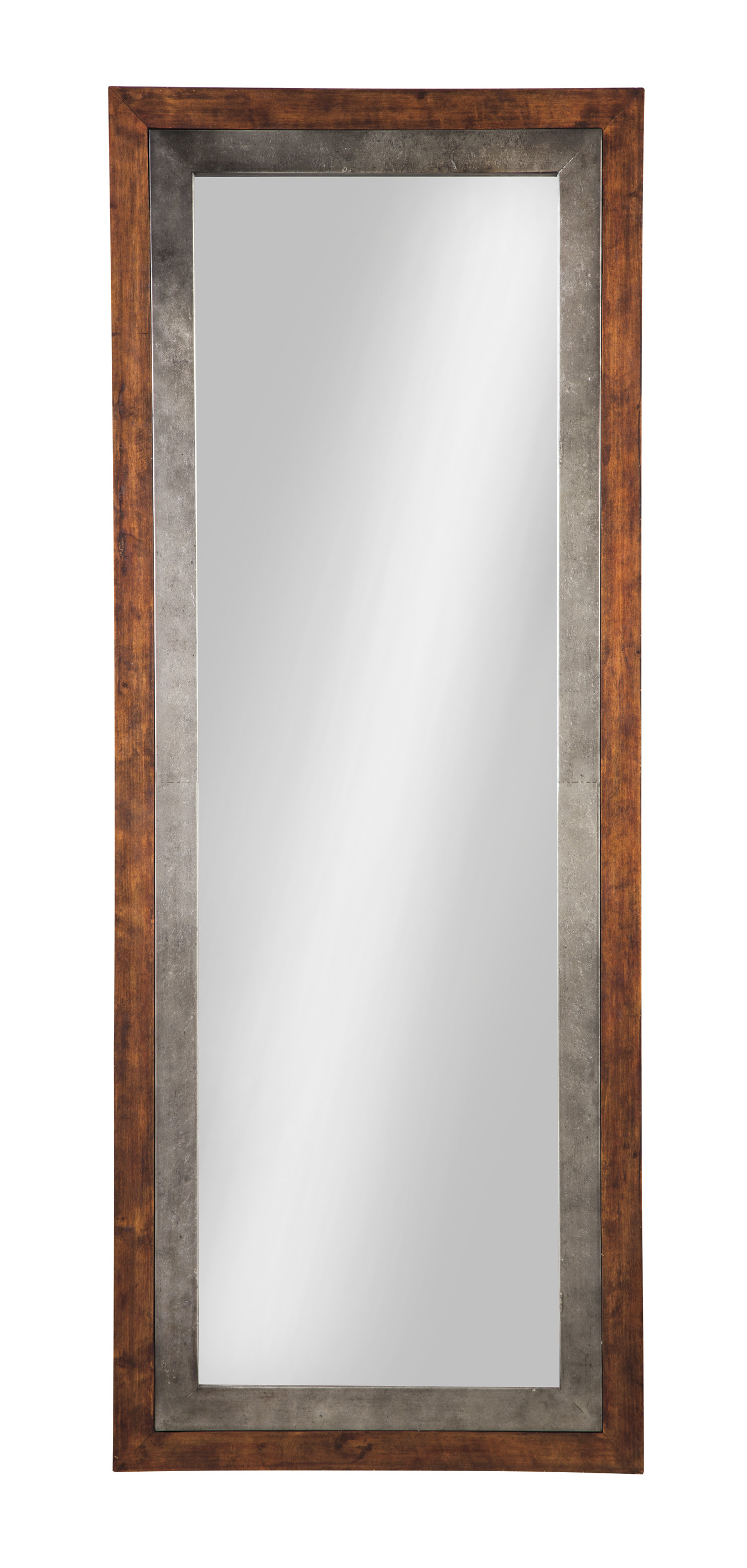 The Red Barn Furniture Store Niah Brown/silver Accent Mirror In Well Liked Silver Frame Accent Mirrors (View 19 of 20)