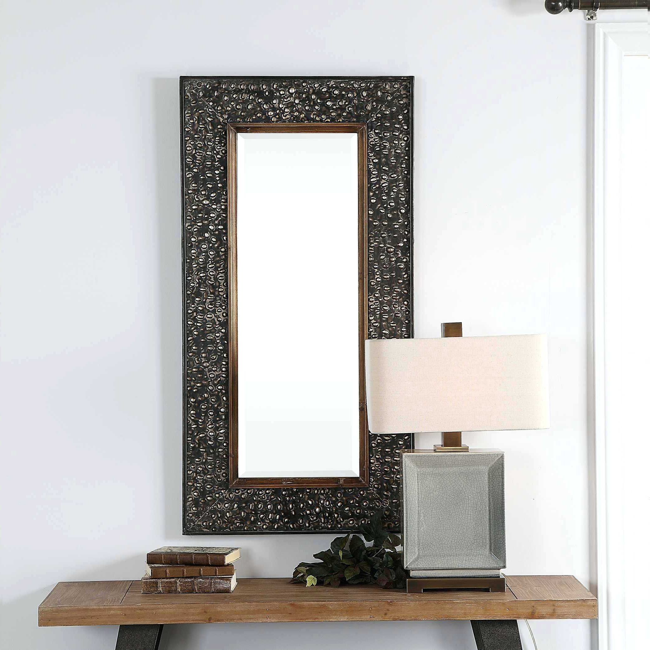 Three Hands Studded Wall Mirror Modern Mirrors – Jibudetese (View 18 of 20)