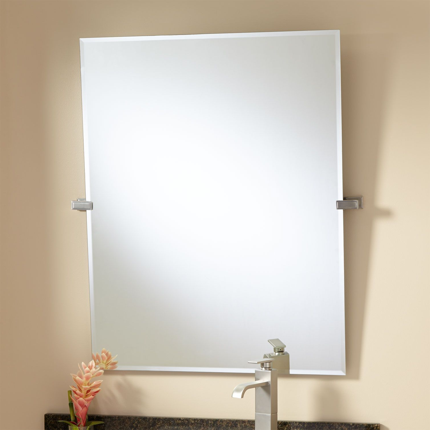 "Tilting Wall Mirrors In Well Known 36"" Helsinki Rectangular Tilting Mirror (View 16 of 20)"