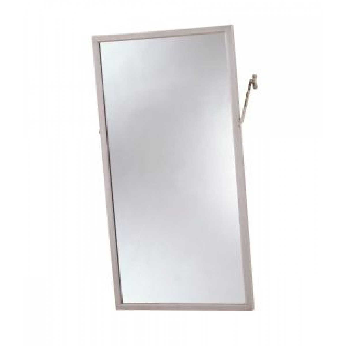 Tilting Wall Mirrors Regarding Fashionable Bobrick B 294 Angle Frame Tilting Mirrors (View 14 of 20)