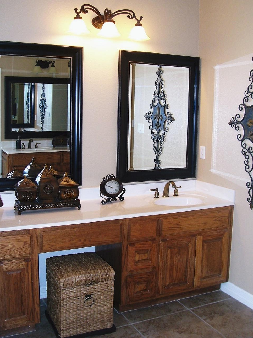 Top 27 Wicked Framed Bathroom Vanity Mirrors Grey Wall Cabinets Open Within Newest Kitchen Wall Mirrors (Gallery 19 of 20)