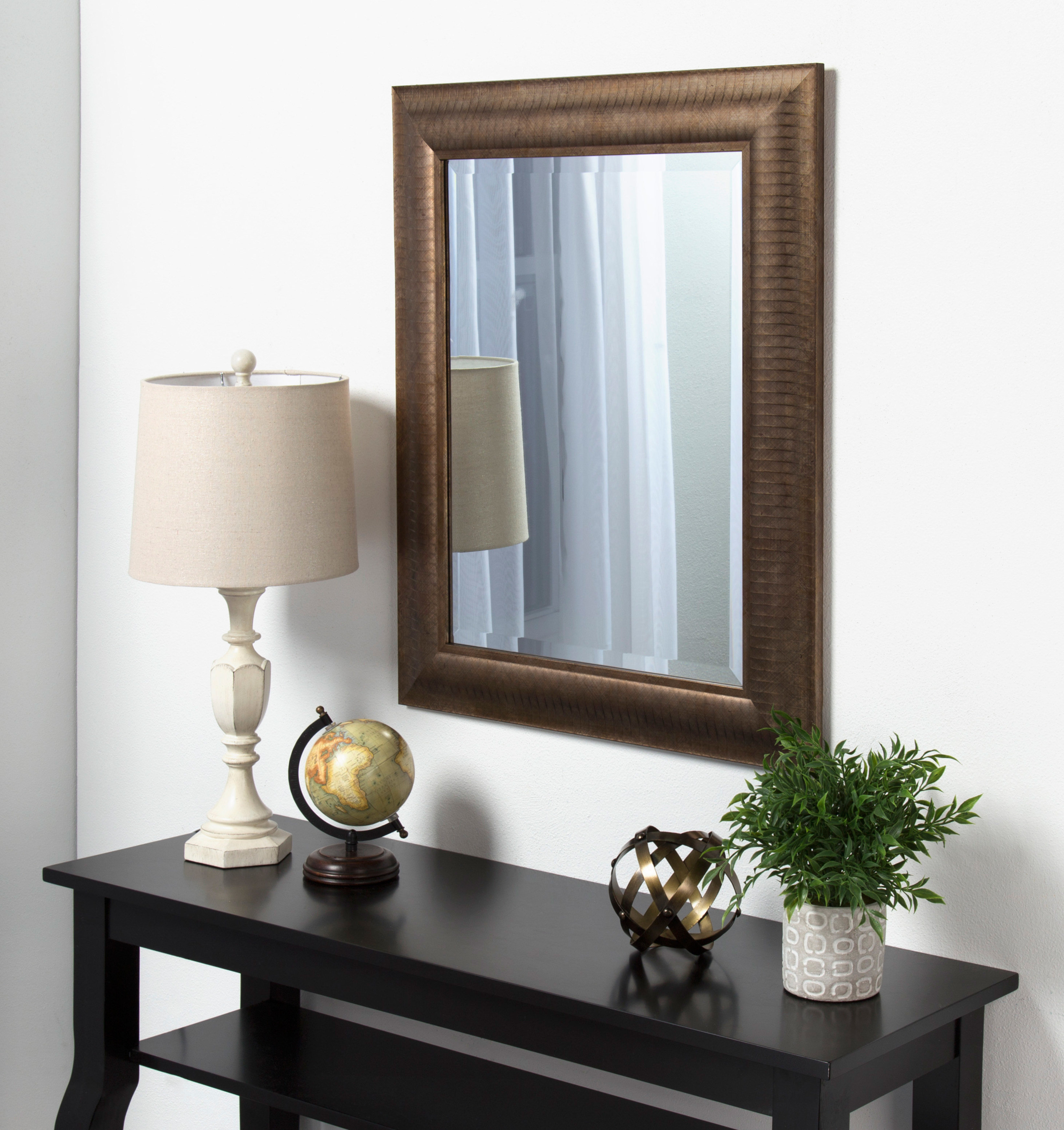 Tora Traditional Beveled Accent Mirror Throughout Widely Used Gaunts Earthcott Modern & Contemporary Beveled Accent Mirrors (View 9 of 20)
