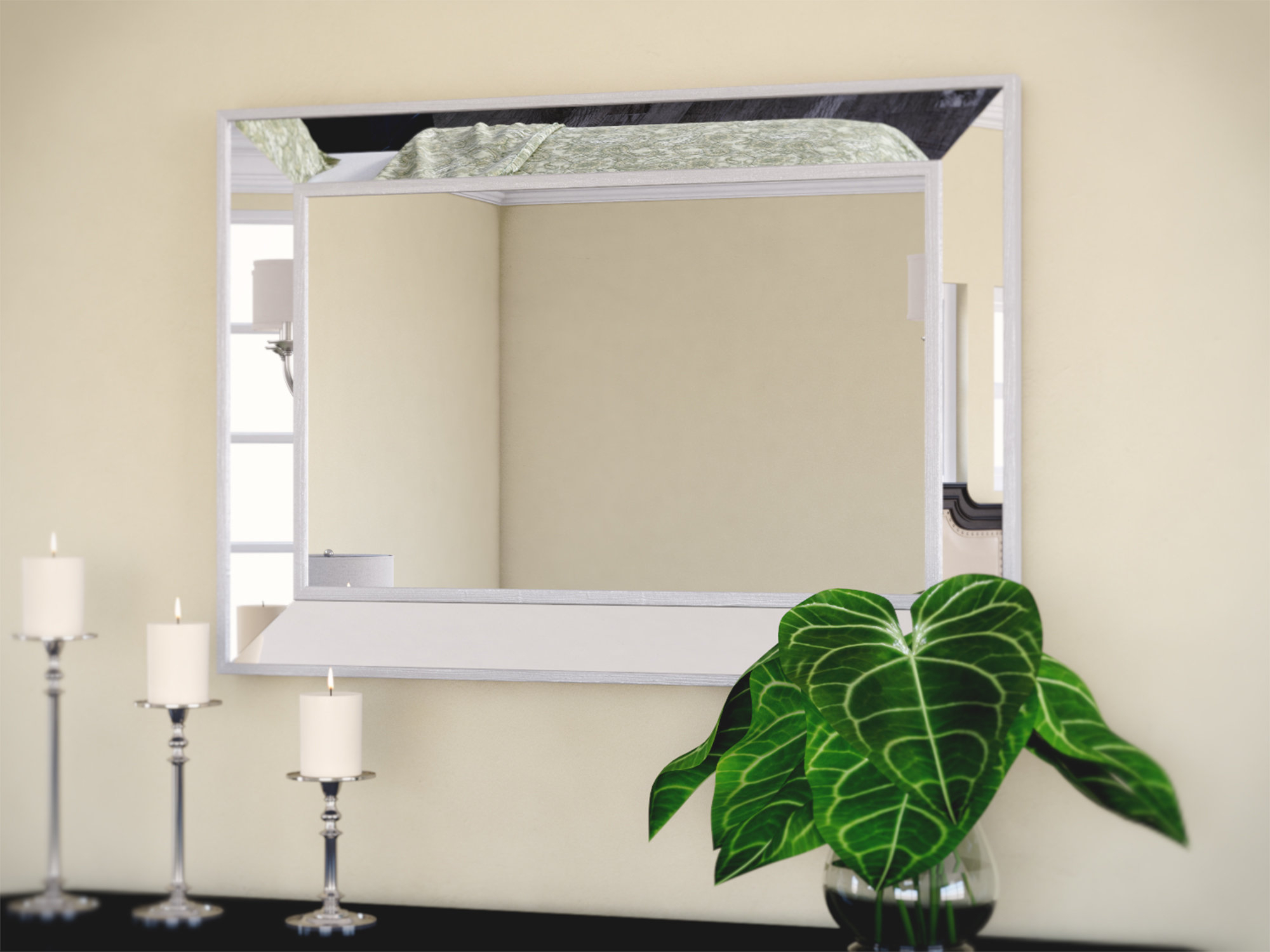 Traditional Beveled Wall Mirror With Regard To Latest Traditional Beveled Wall Mirrors (View 8 of 20)