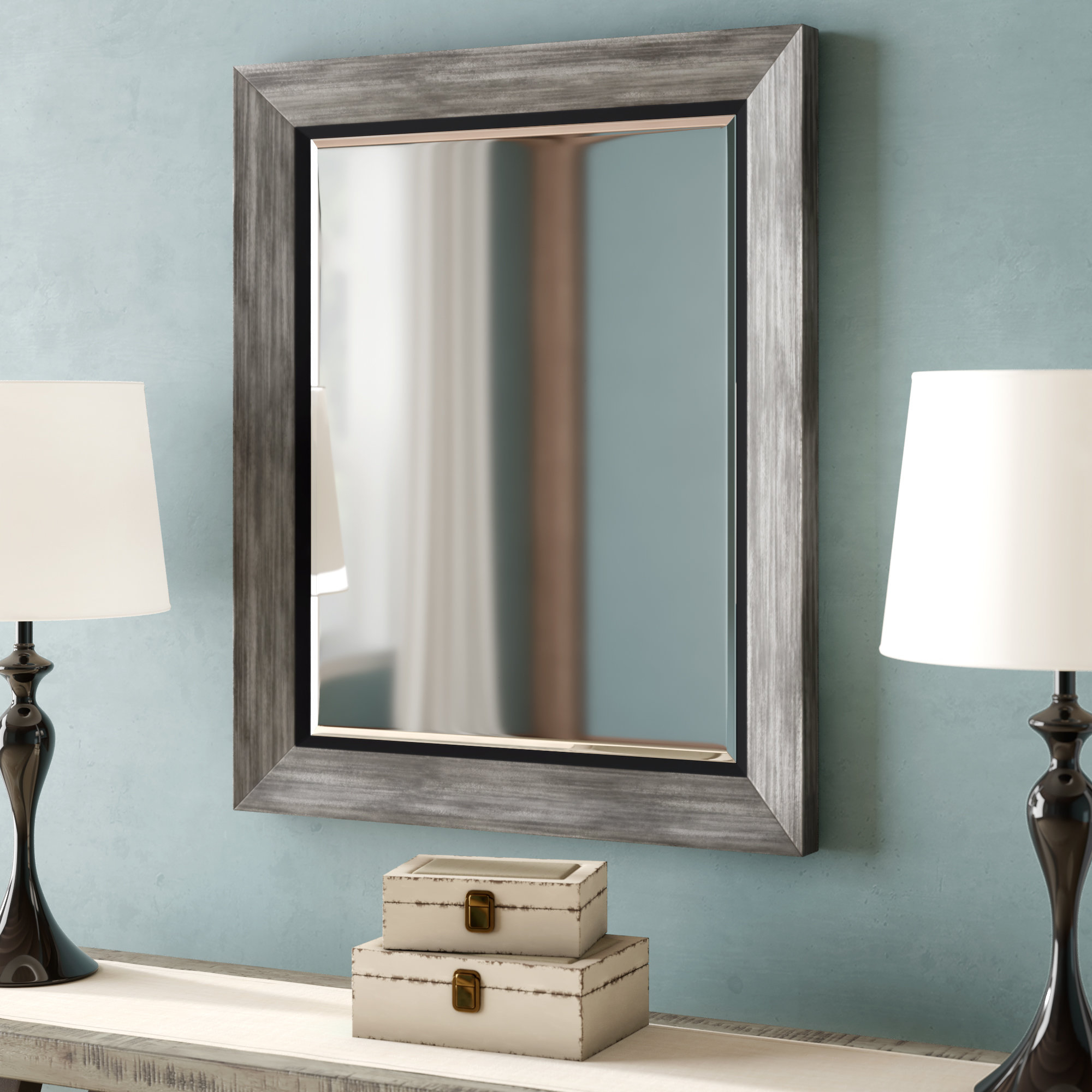 Traditional Beveled Wall Mirrors Regarding Famous Traditional Beveled Wall Mirror (View 4 of 20)