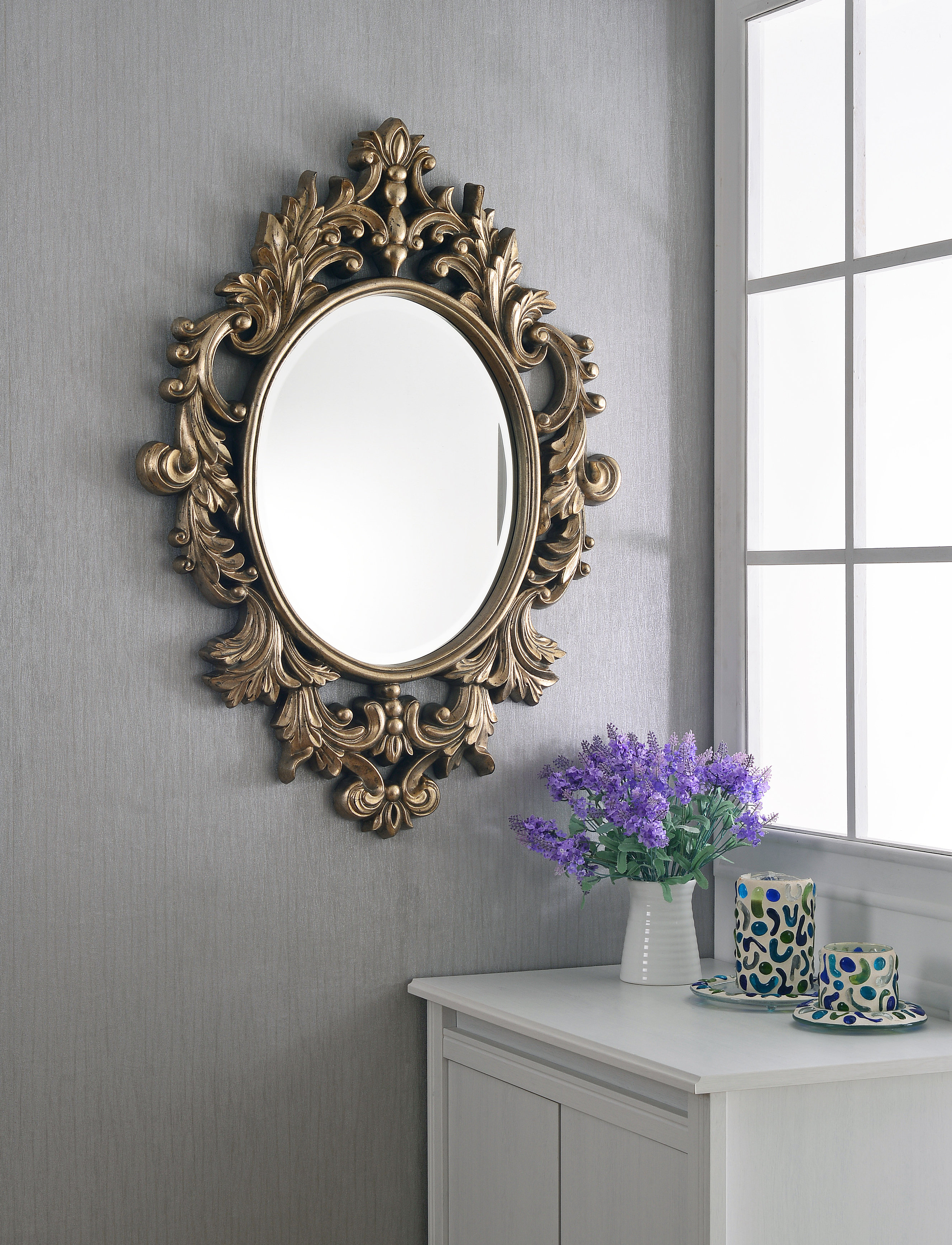 Traditional/coastal Accent Mirrors Intended For Most Popular Mazzarella Traditional Accent Mirror (View 5 of 20)