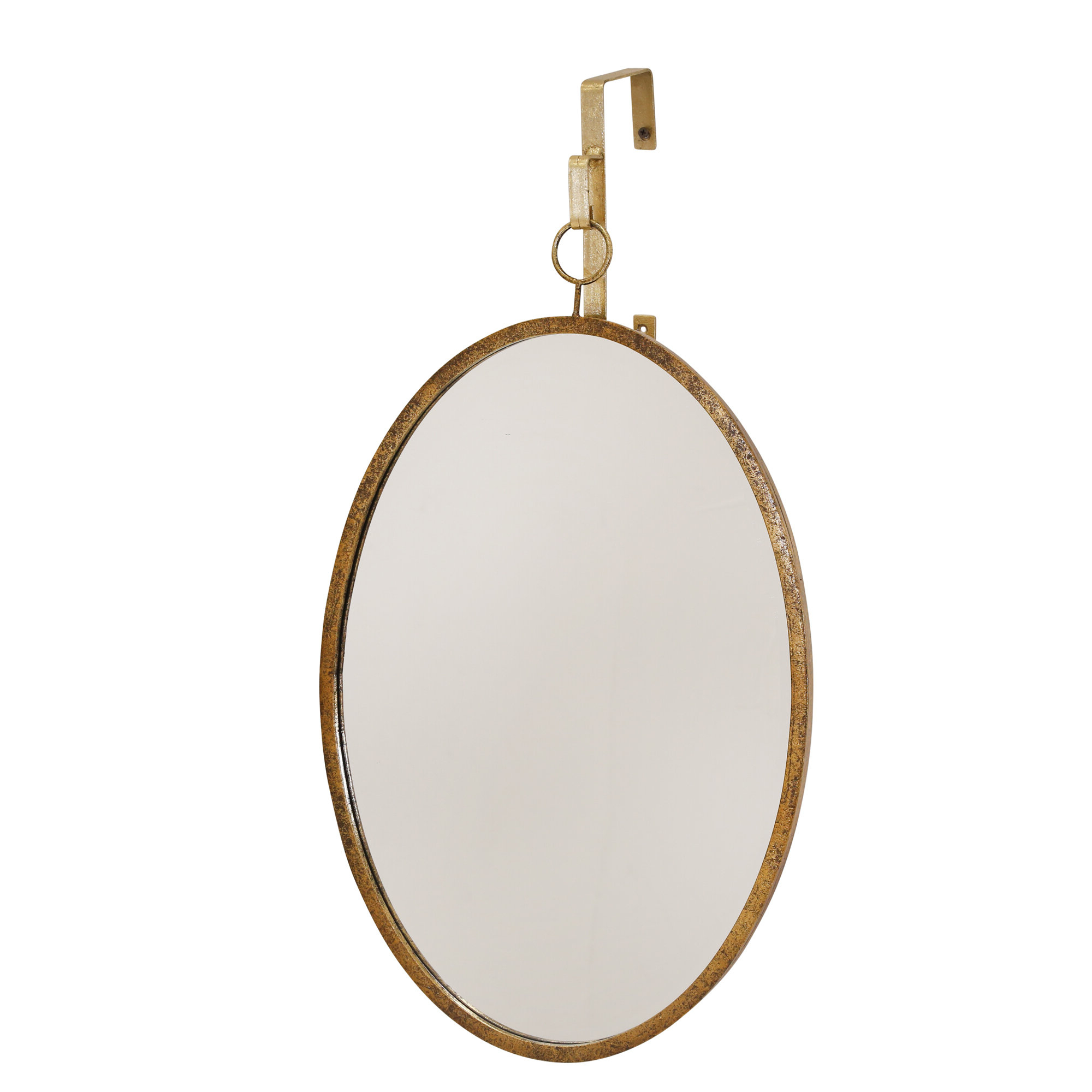 Traditional Distressed Accent Mirror In Most Recent Kinley Accent Mirrors (View 13 of 20)