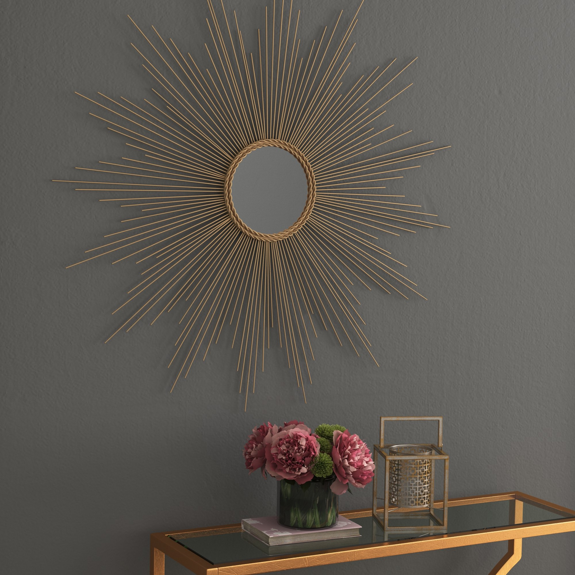 Traditional Metal Wall Mirror Intended For Most Popular Traditional Metal Wall Mirrors (View 2 of 20)