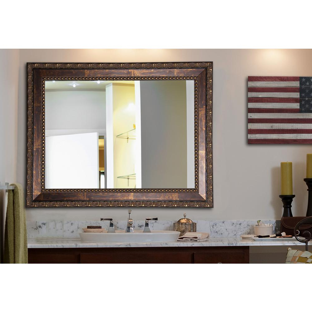 Traditional Wall Mirrors In Most Recent 39.5 In. X 45.5 In (View 14 of 20)