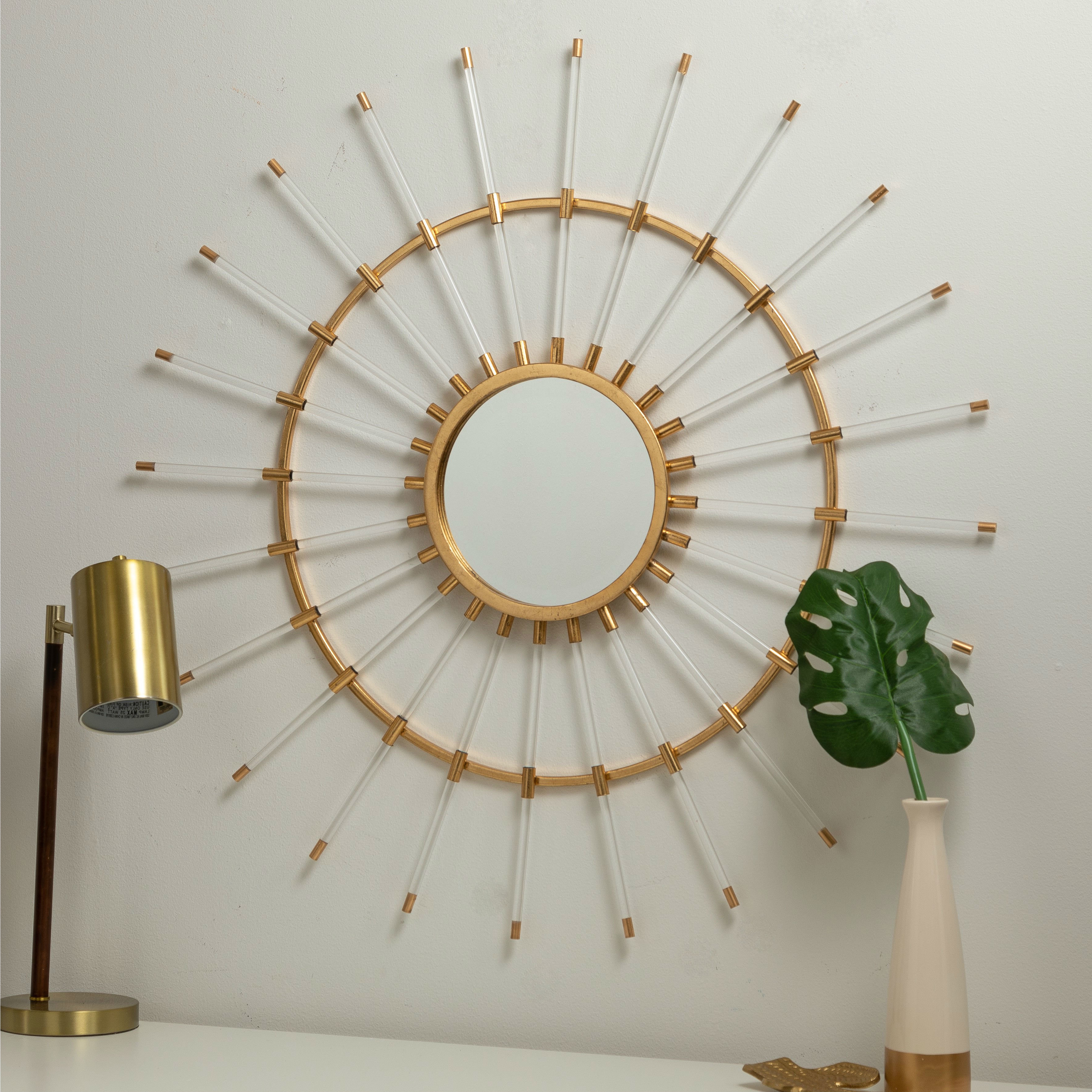 Trendy Accent Sunburst Mirrors Youll Love Wayfair Look At This Pertaining To Brylee Traditional Sunburst Mirrors (View 7 of 20)