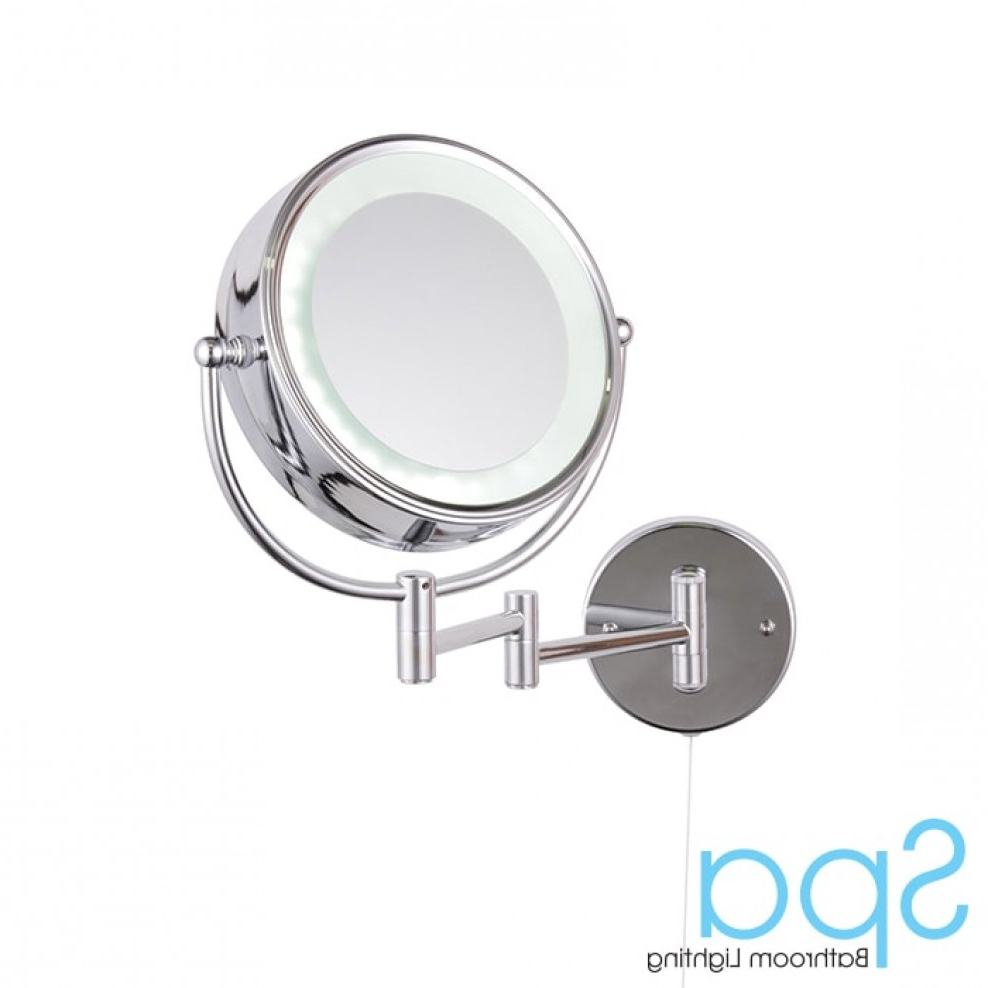 Trendy Adjustable Led Bathroom Wall Mirror With Regard To Adjustable Wall Mirrors (Gallery 15 of 20)