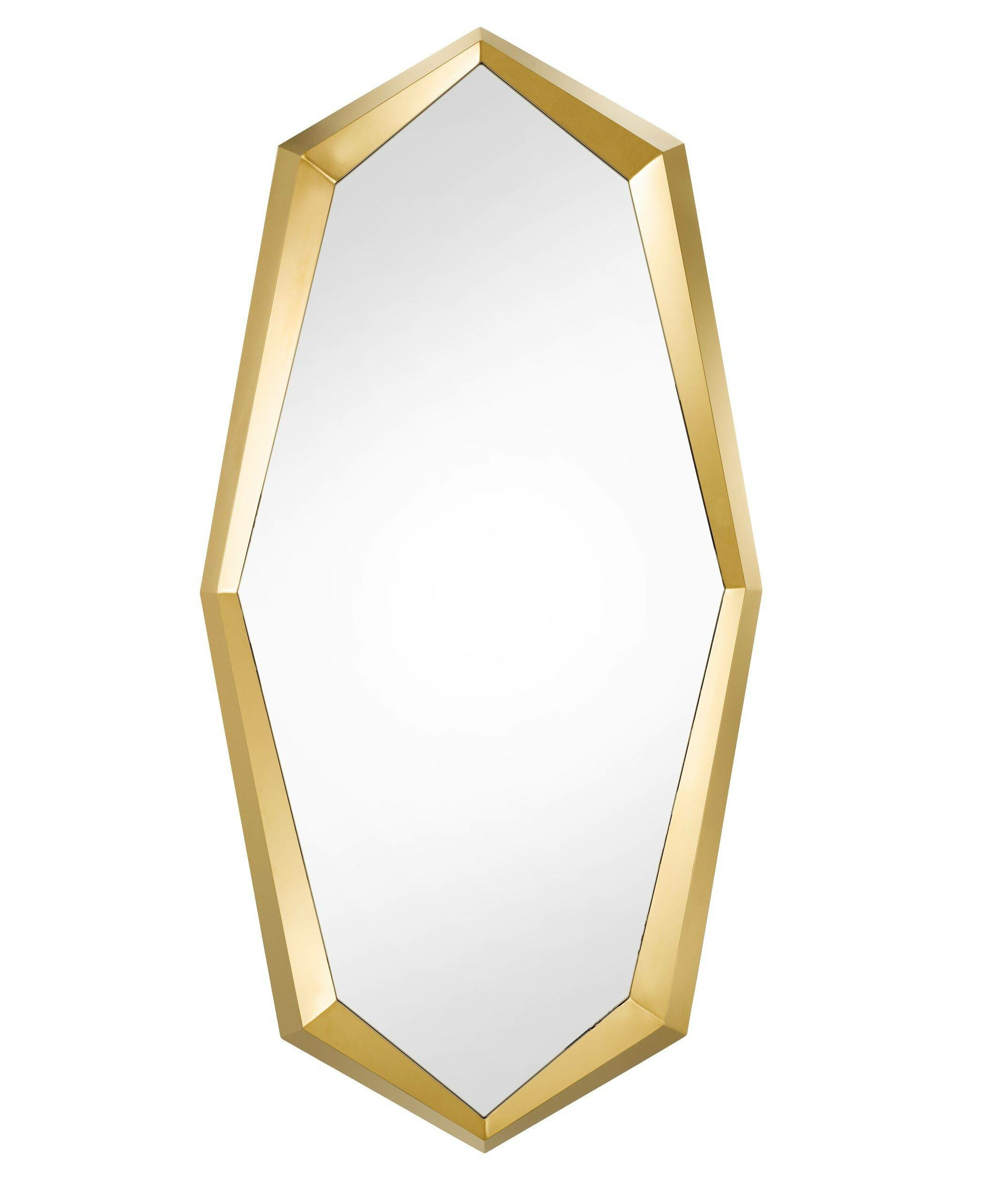 Trendy Broadmeadow Glam Accent Wall Mirrors With Regard To Narcissus Octagonal Glam Accent Mirror (View 18 of 20)