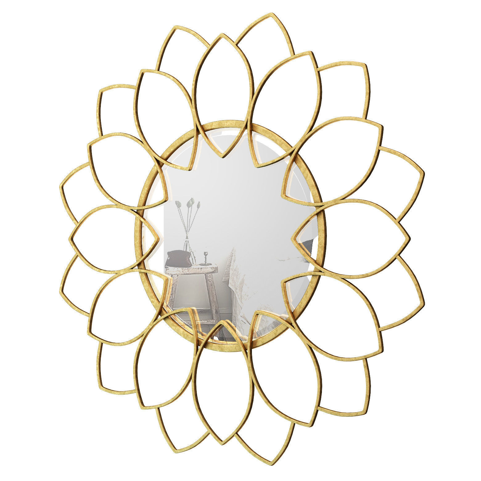 Trendy Brynn Accent Mirror Wrlo7002 (Gallery 2 of 20)