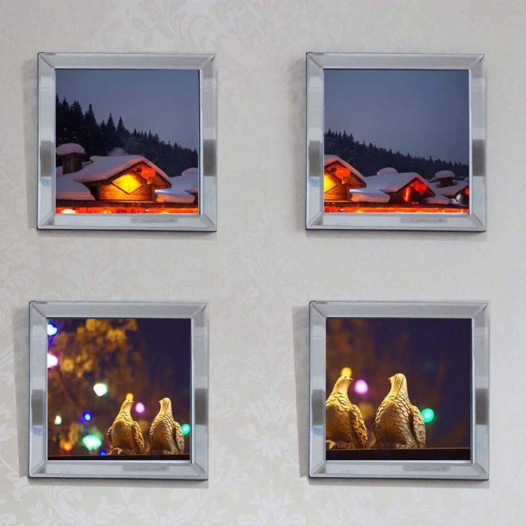 Trendy Caja Rectangle Glass Frame Wall Mirrors Pertaining To ซื้อที่ไหน Wall Mounted Mirrored Frame Wall Decoration Picture Frame (View 19 of 20)