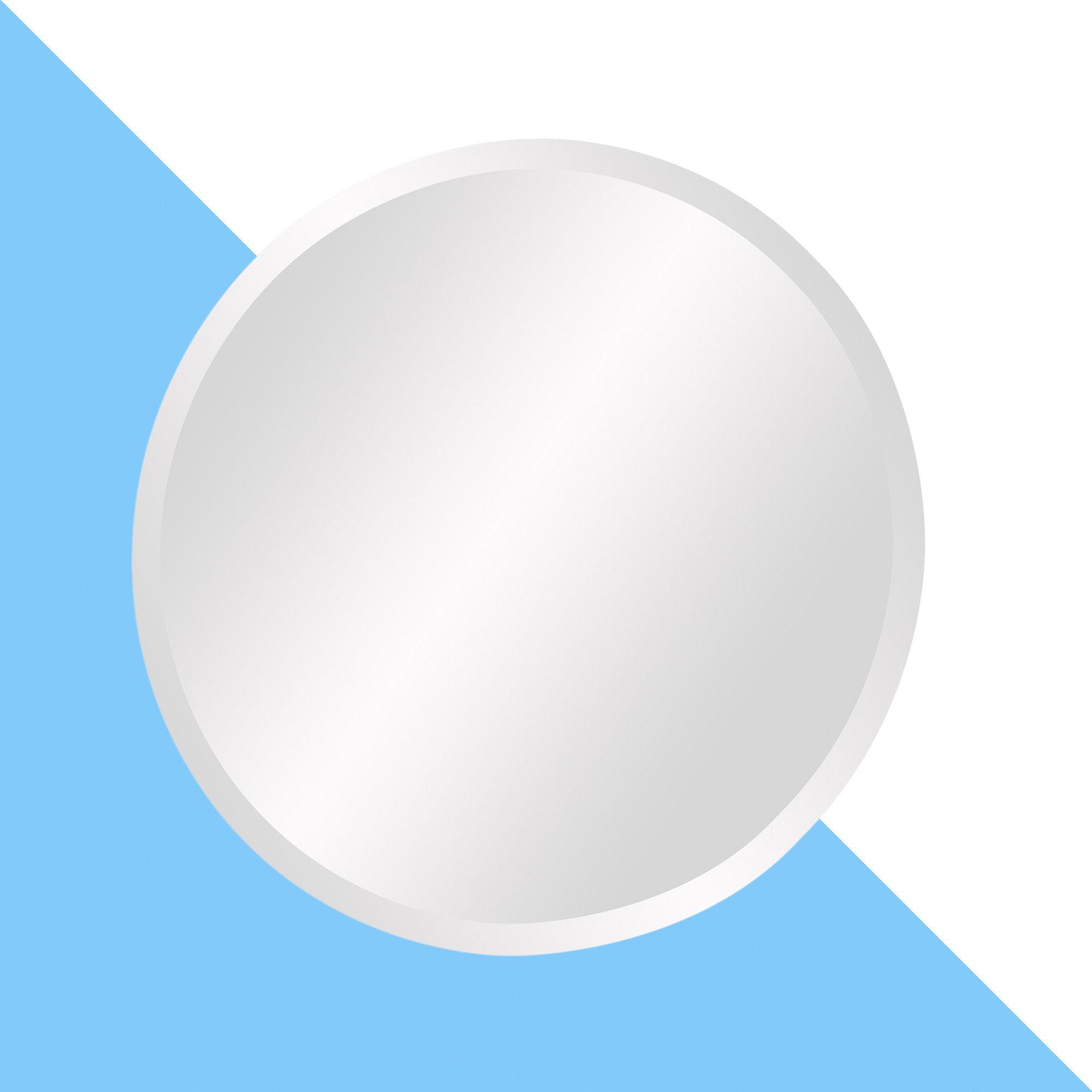 Trendy Celeste Frameless Round Wall Mirrors Intended For Celeste Frameless Round Wall Mirror (View 4 of 20)