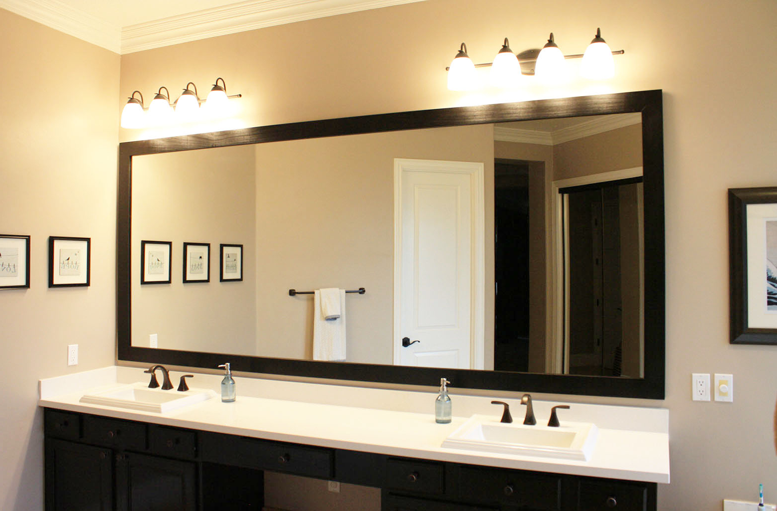 Trendy Custom Hanging Mirrors That Make Your Bathroom Pop! – The Inside Sydney Large Wall Mirrors (View 16 of 20)