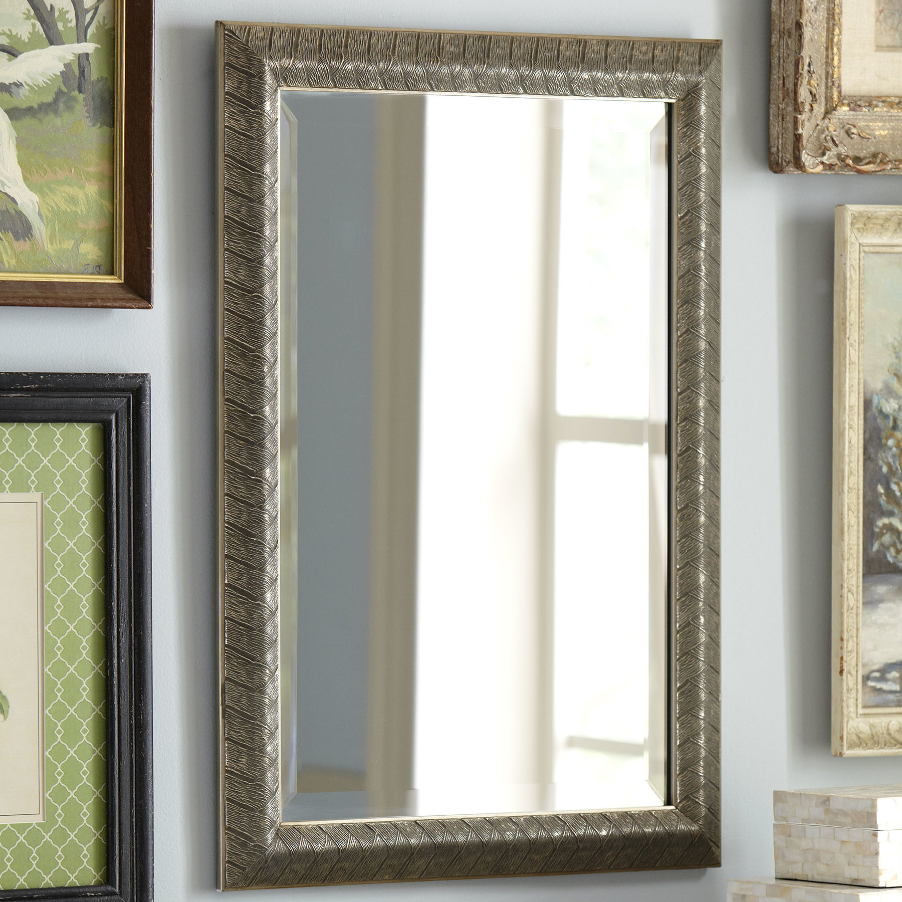 Trendy Epinal Shabby Elegance Wall Mirrors With Filippa Accent Mirror (View 14 of 20)