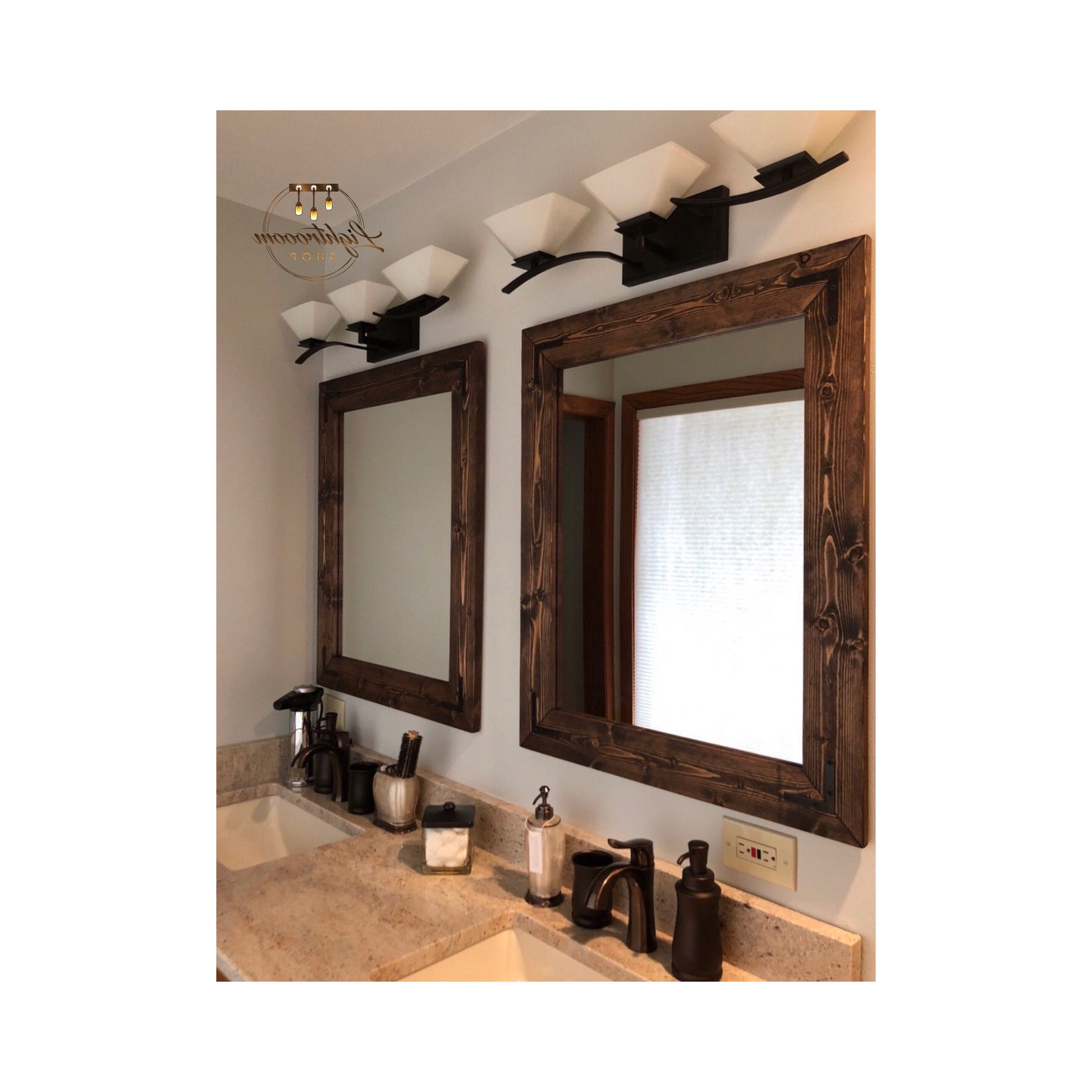 Trendy Espresso Wall Mirrors For Espresso Mirror Set, Cottage Mirrors, Double Mirrors, Floor, Bathroom,  Double Vanity Mirrors, Wooden Mirrors, Framed Mirrors, Wall Mirrors (View 18 of 20)