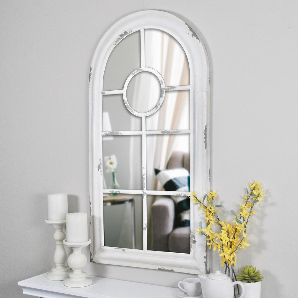 Trendy Firstime 36 In. X 19 In. Adeline Arch Wall Mirror 70002 – The Home Depot Within Arch Wall Mirrors (Gallery 2 of 20)