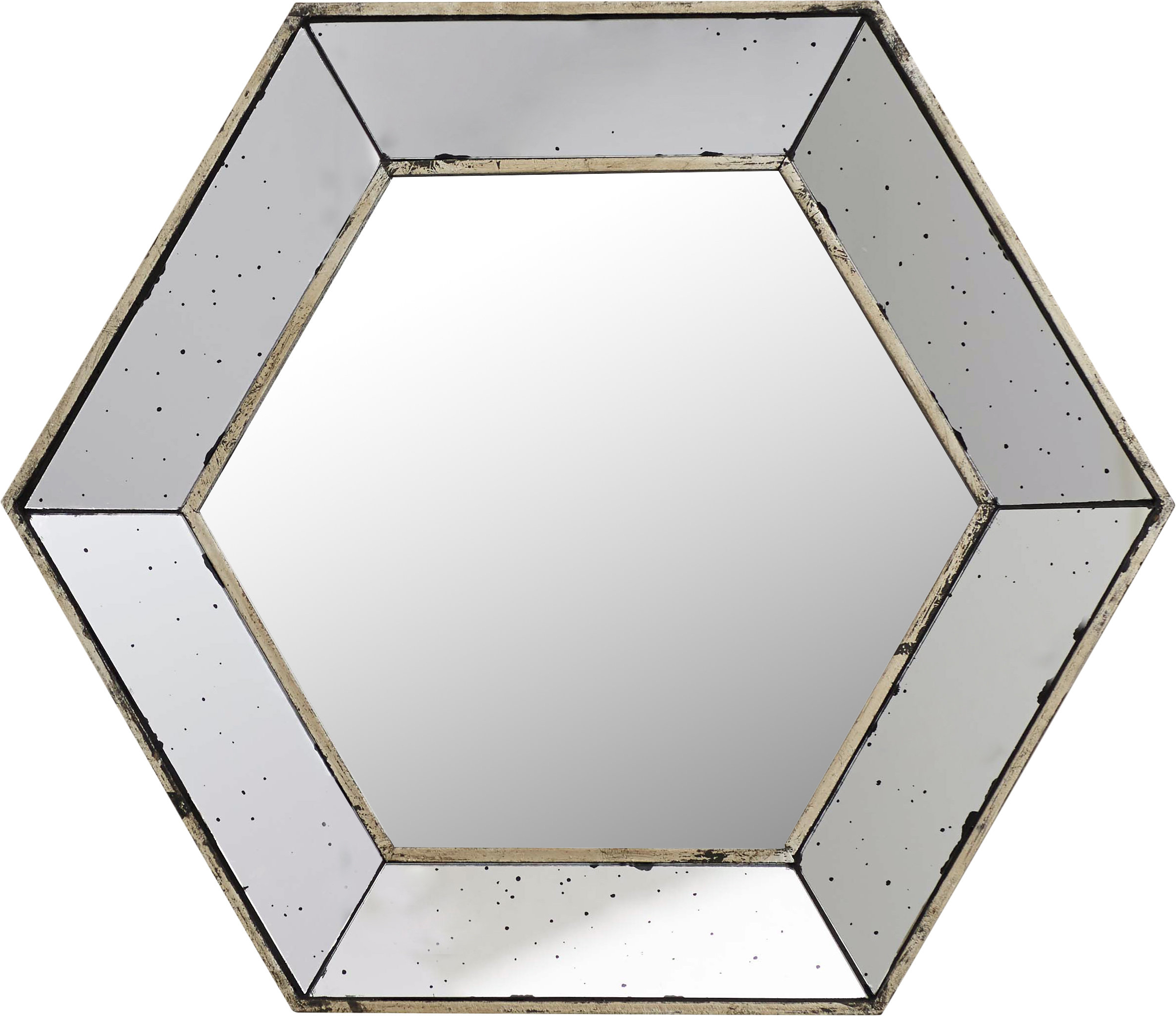 Trendy Gia Hexagon Accent Mirrors With Gia Hexagon Accent Mirror (View 2 of 20)