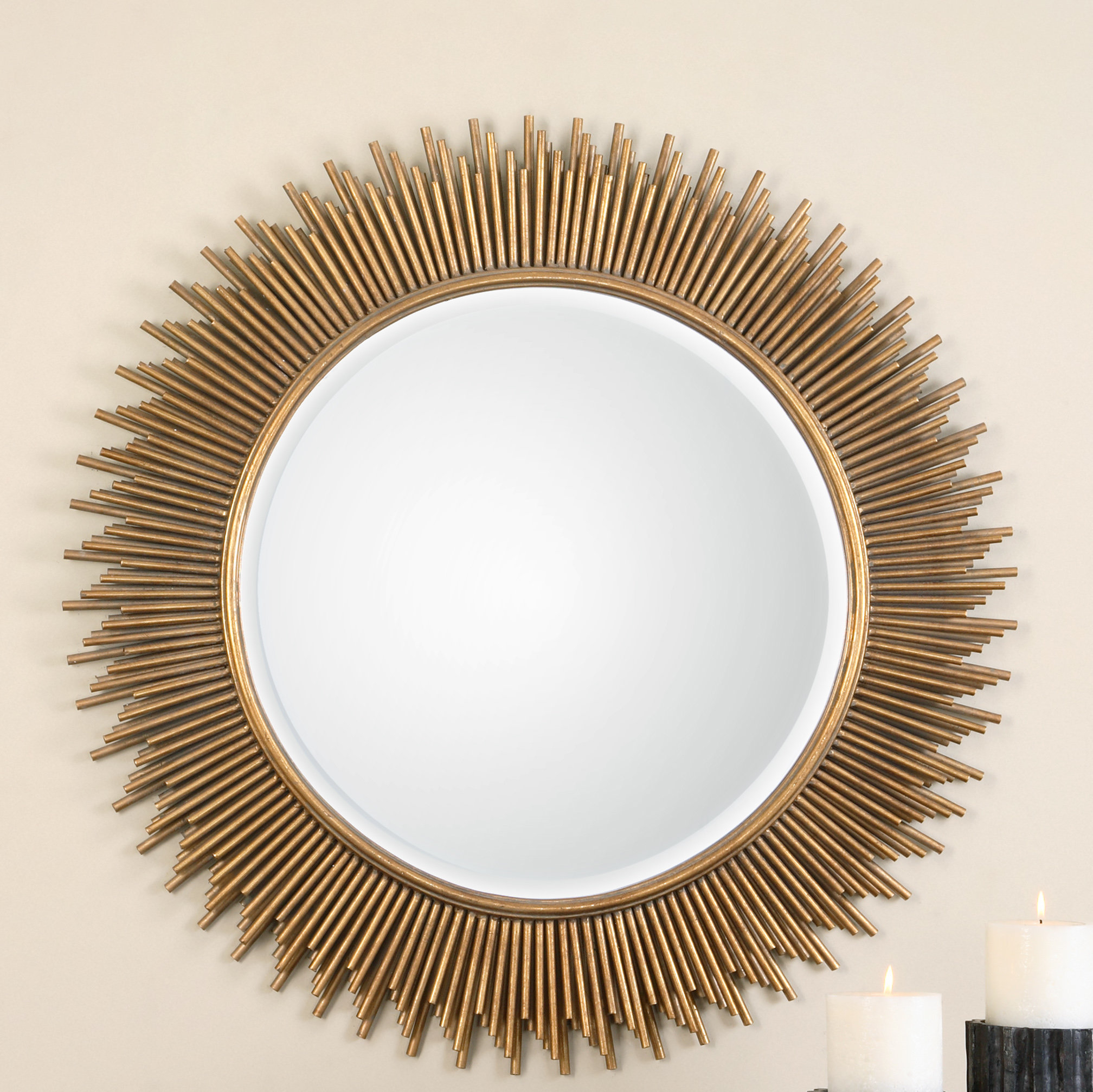 Trendy Josephson Starburst Glam Beveled Accent Wall Mirrors Within Marlo Accent Mirror (Gallery 18 of 20)