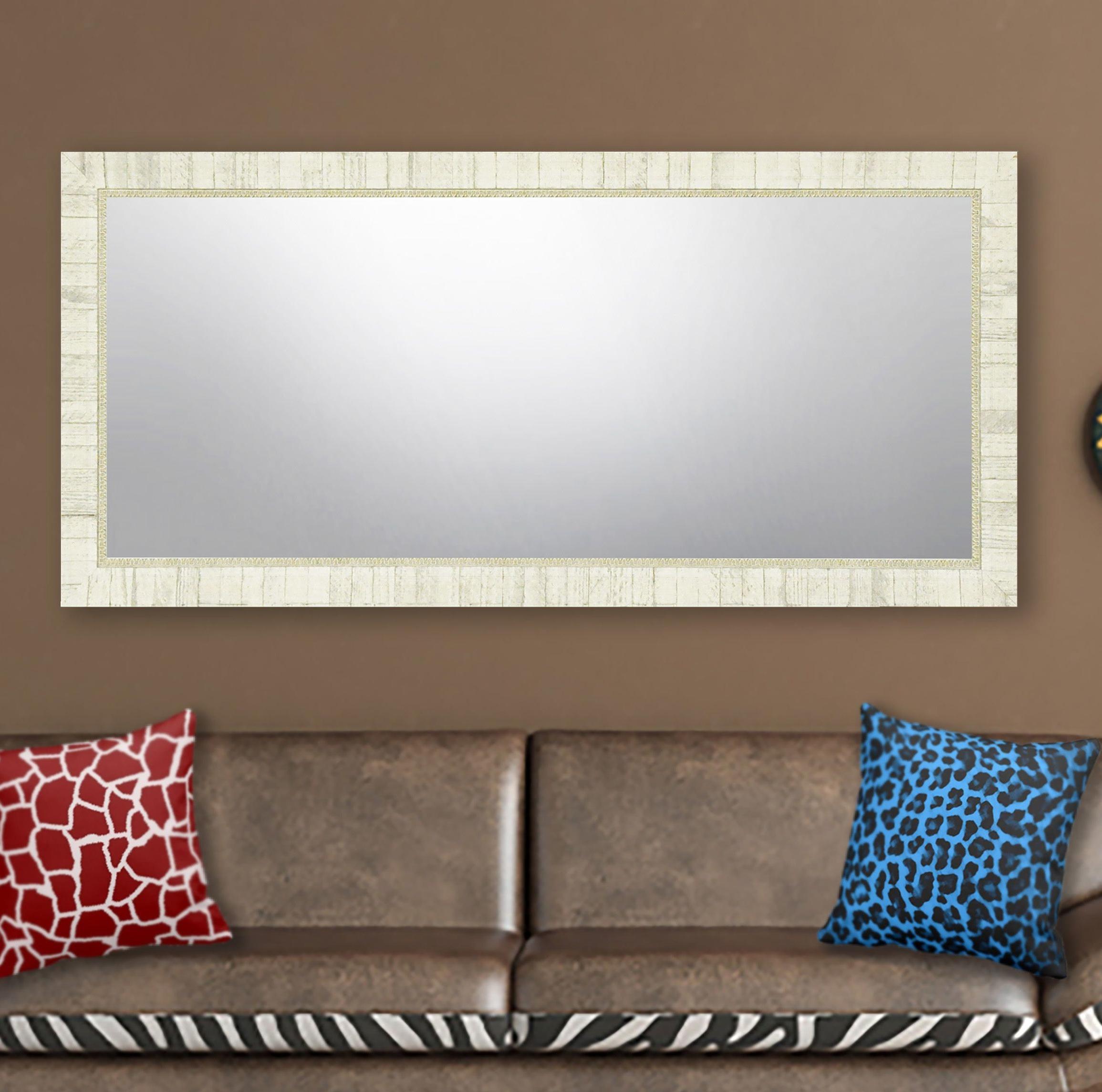 Trendy Landover Rustic Distressed Bathroom/vanity Mirrors In Distressed Bathroom Vanity Mirror – Home Decor Photos Gallery (View 6 of 20)