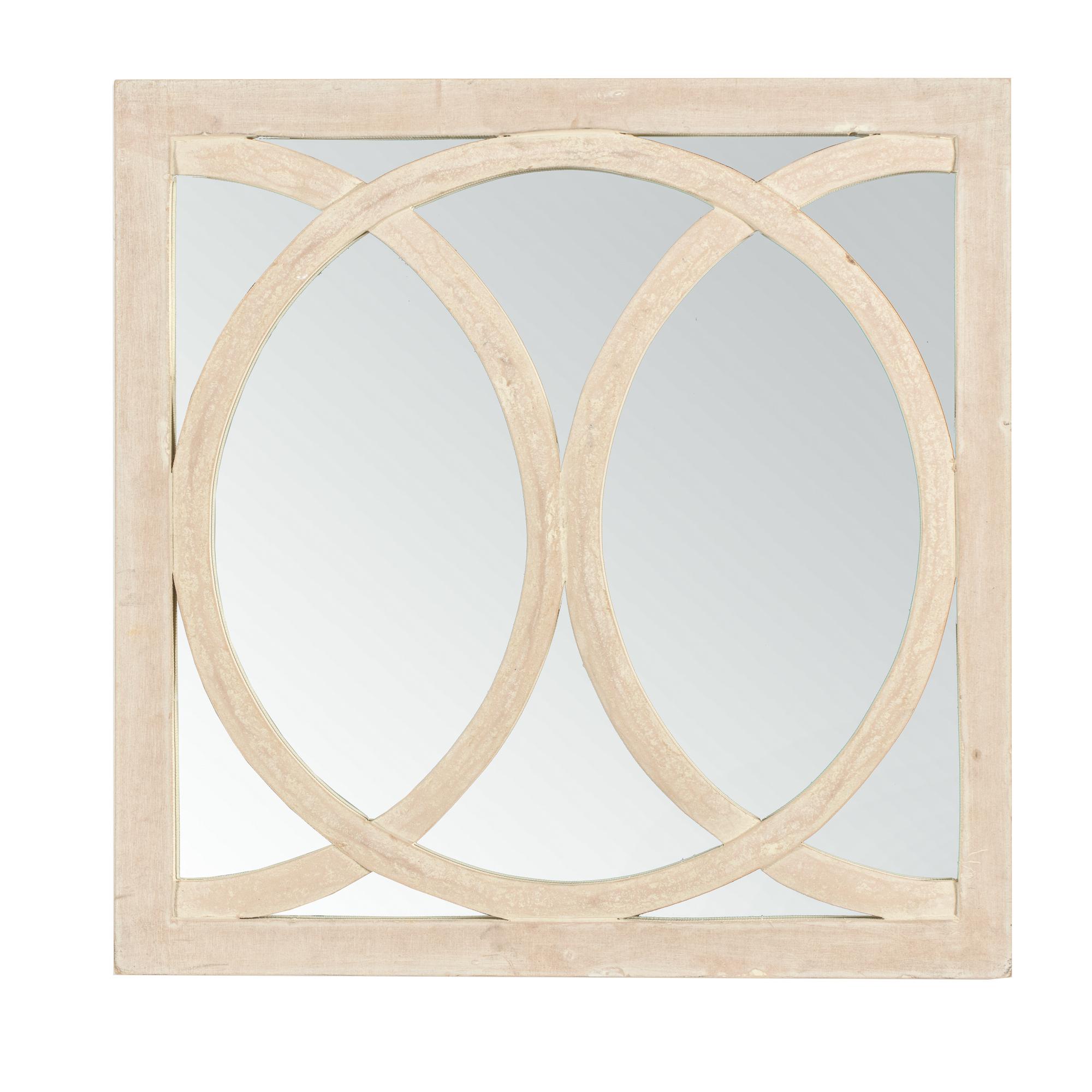 Trendy Large Square Circolo Wall Mirror Pertaining To Large Square Wall Mirrors (View 17 of 20)