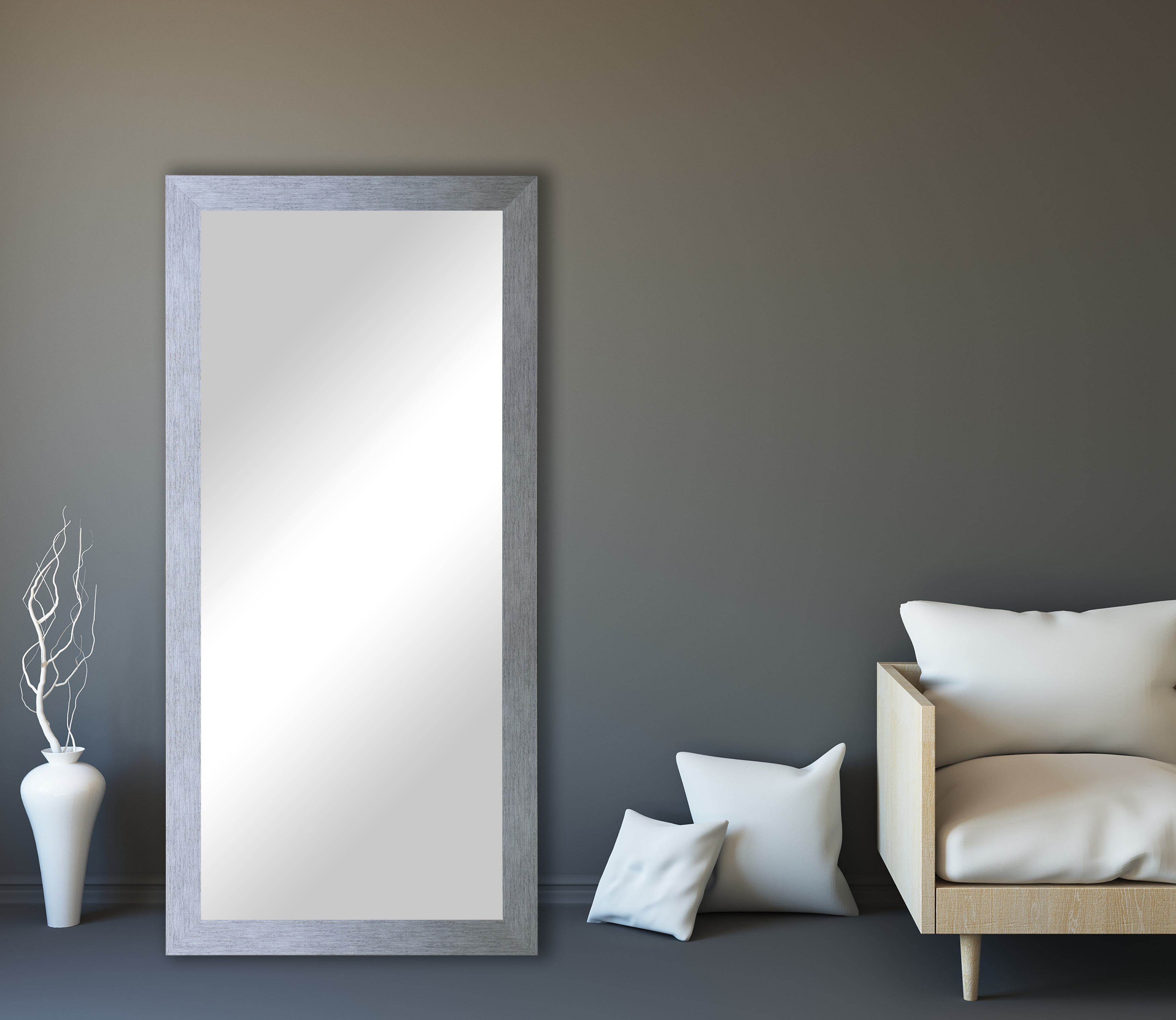 Trendy Lloyd Modern And Contemporary Full Length Mirror For Dalessio Wide Tall Full Length Mirrors (View 18 of 20)