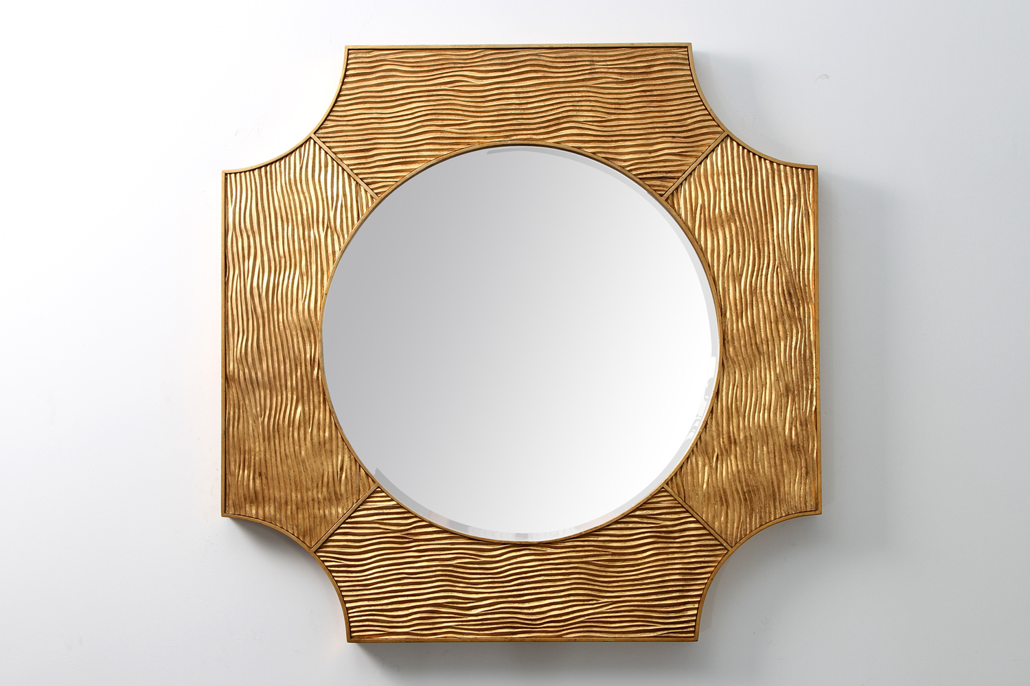 Trendy Luxury Wall Mirrors Intended For Lucas Wall Mirror – Antique Gold (View 18 of 20)