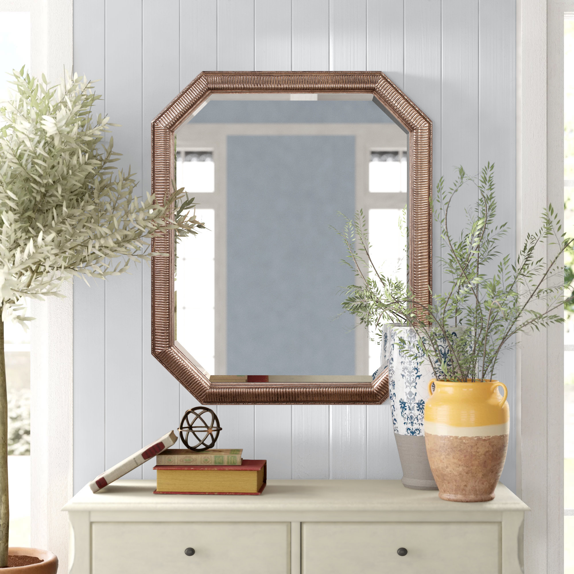Trendy Maude Accent Mirrors Intended For Patrizia Traditional Accent Mirror (View 17 of 20)