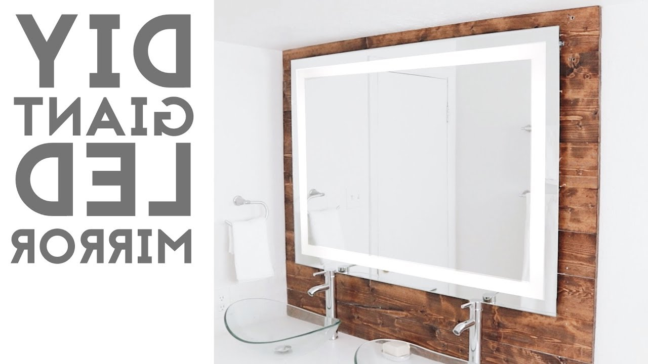 "Trendy Mission Style Wall Mirrors For Diy Led ""framed"" Mirror (Gallery 16 of 20)"