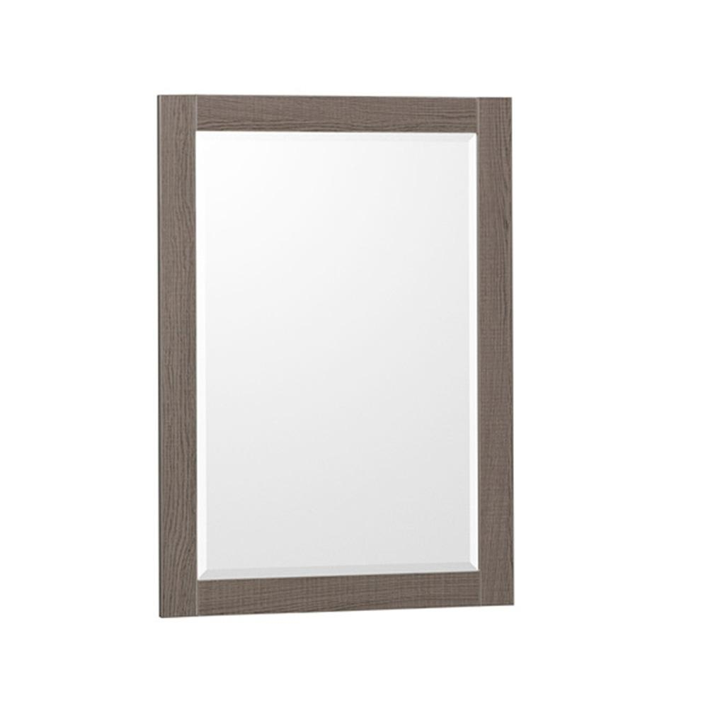 Trendy Oak Framed Wall Mirrors In Wyndham Collection Amare 24 In. W X 33 In (View 10 of 20)