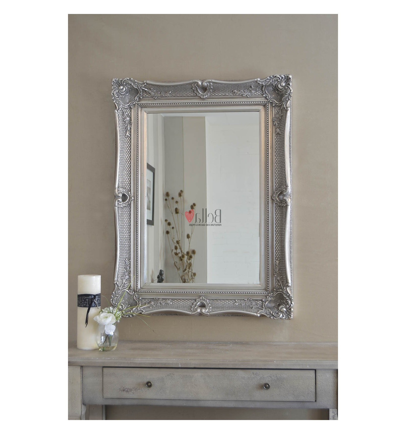 Trendy Small Glamorous Ornate Wall Mirror Intended For Small Wall Mirrors (View 19 of 20)
