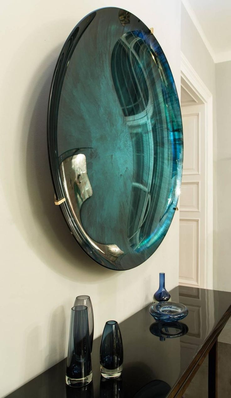Trendy Small Round Mirrors Wall Art Simple Mirror Italian Circular Intended For Concave Wall Mirrors (View 13 of 20)