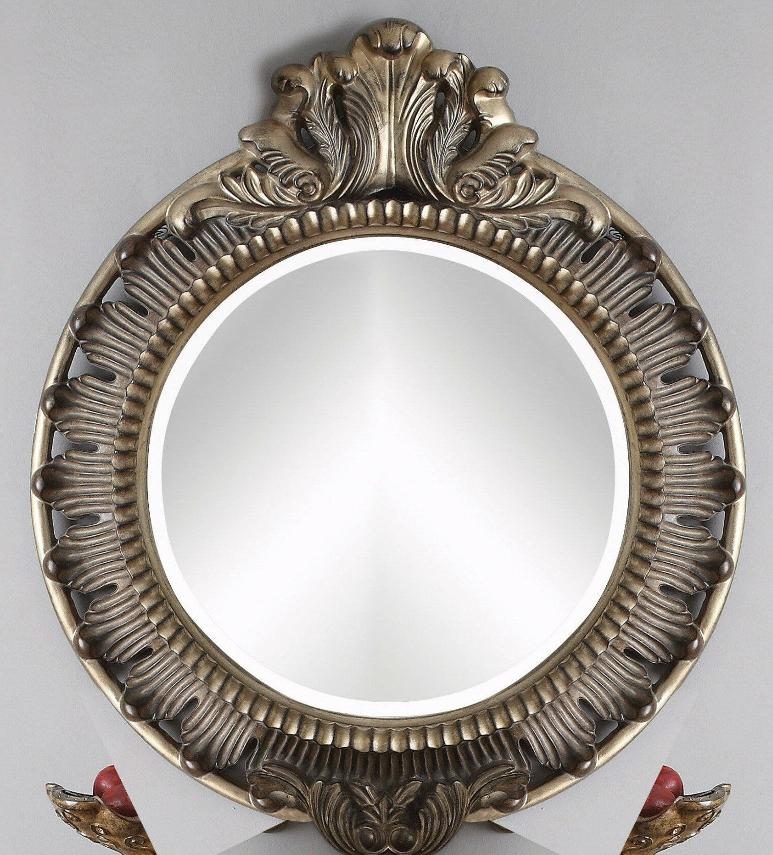 Trendy Traditional Beveled Accent Mirrors Inside Ortegon Traditional Beveled Accent Mirror (View 16 of 20)