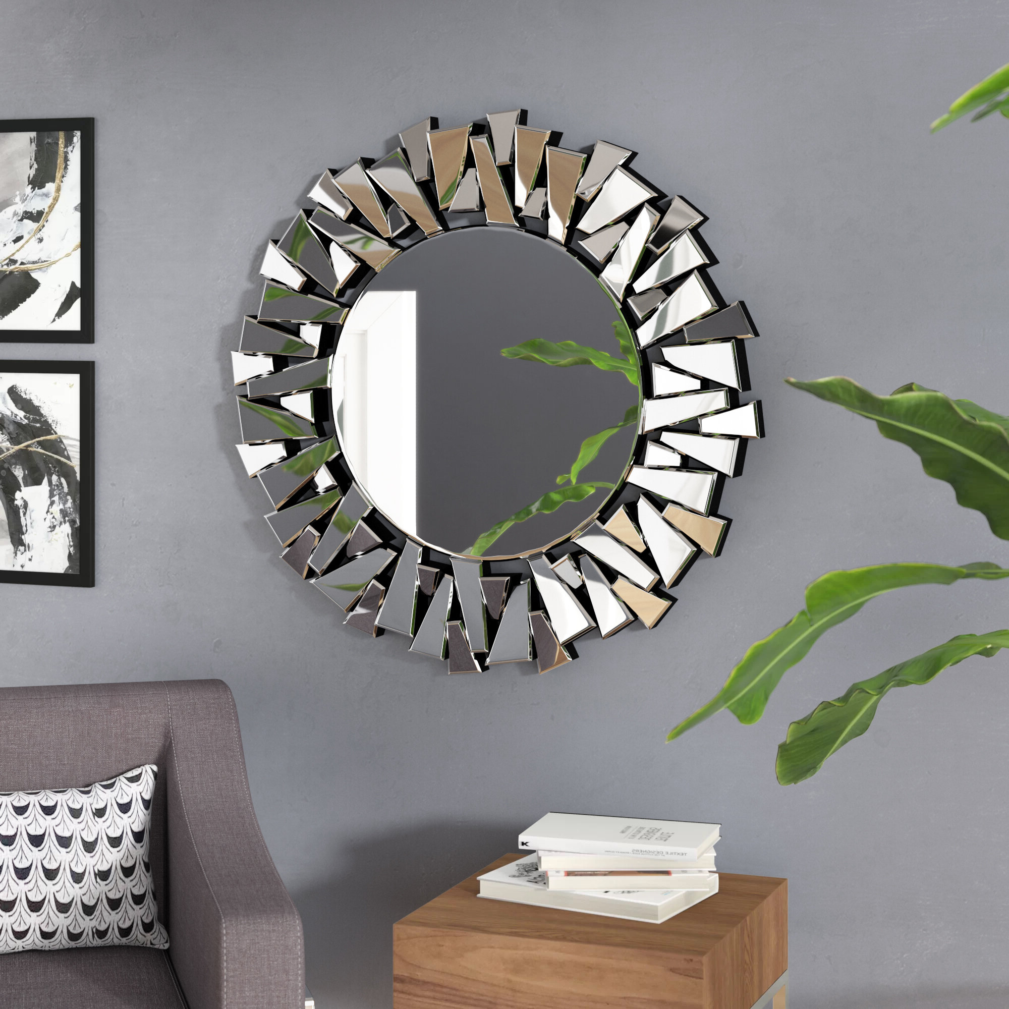 Trendy Trigg Accent Mirrors Within Wheless Accent Mirror (View 9 of 20)