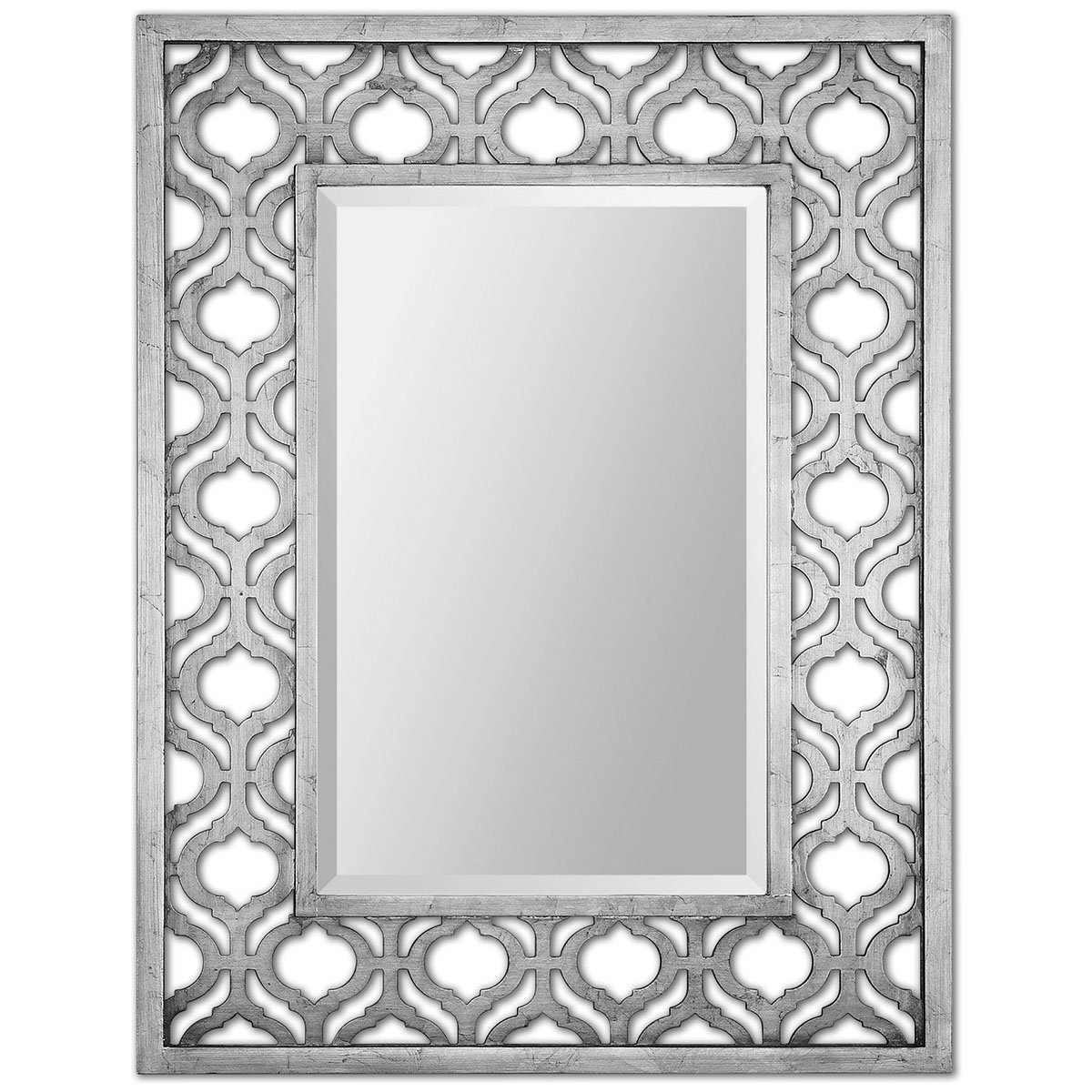 Trendy Ulus Accent Mirrors With Regard To Uttermost 13863 Sorbolo Mirror, Silver (View 13 of 20)