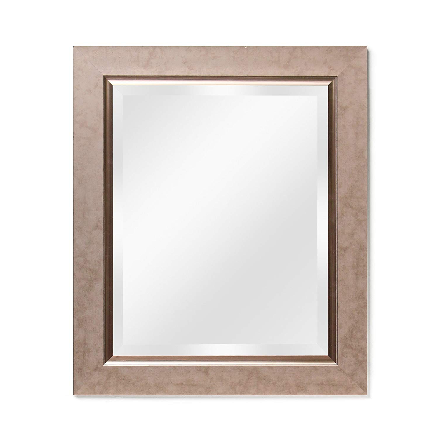 "Trendy Wall Mirror – Decorative Bathroom Mirrors Wall Mounted, Rustic Bronze  21""x25"" Overall Sizeecohome Throughout Decorative Bathroom Wall Mirrors (View 18 of 20)"