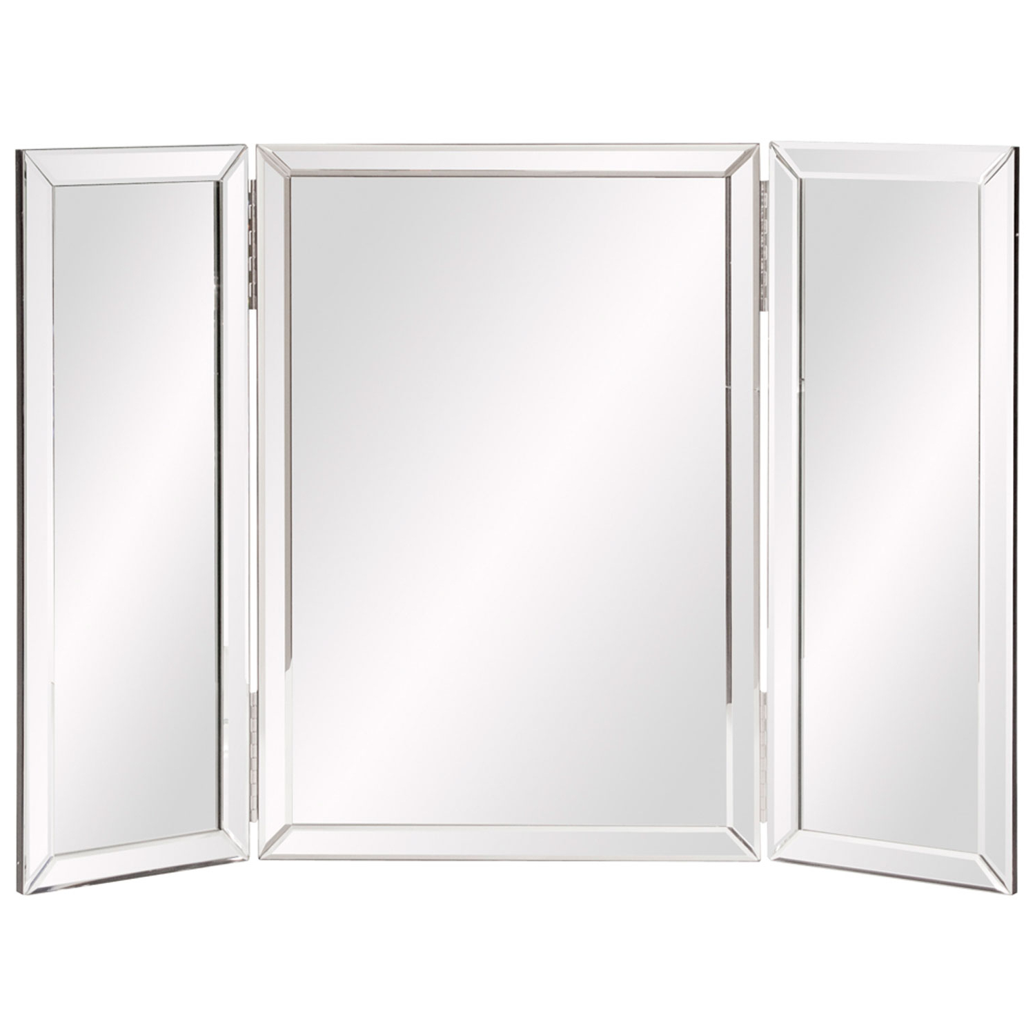 Tri Fold Wall Mirror – Mirror Ideas For Preferred Folding Wall Mirrors (View 14 of 20)