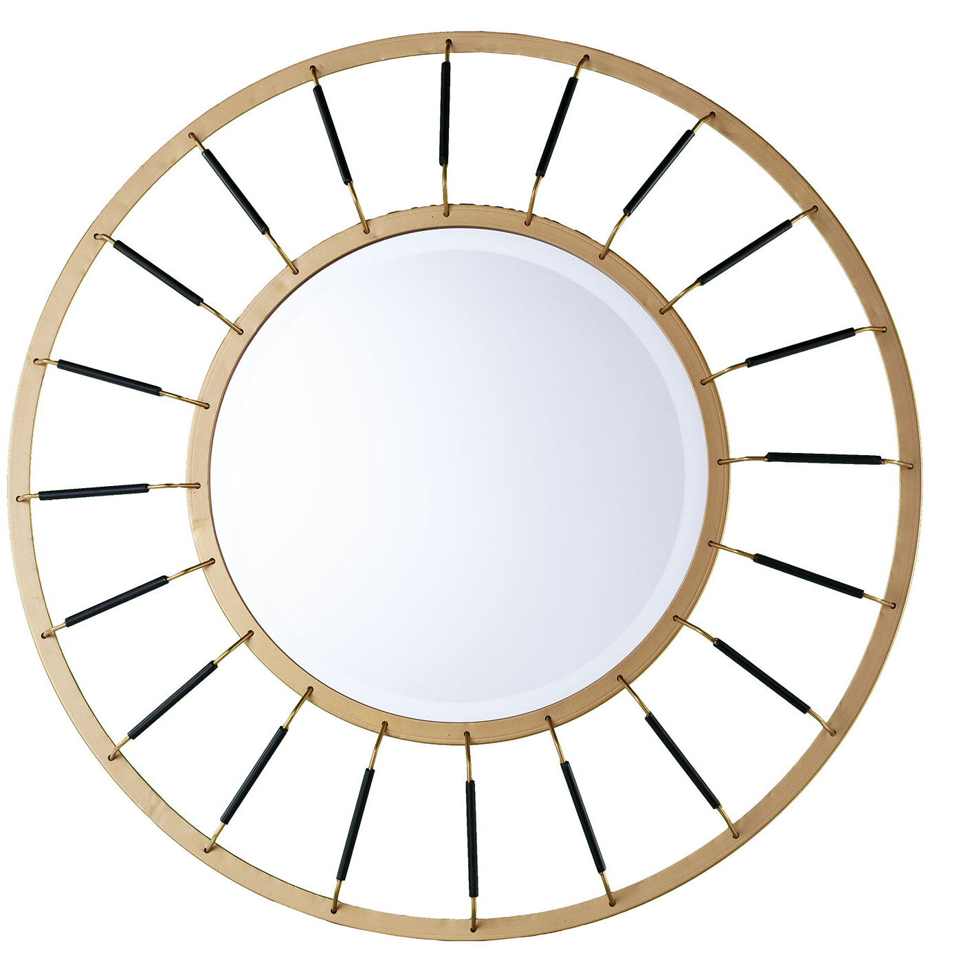 Trigg Accent Mirrors With Regard To Latest Maniscalco Round Decorative Modern Accent Mirror (View 19 of 20)