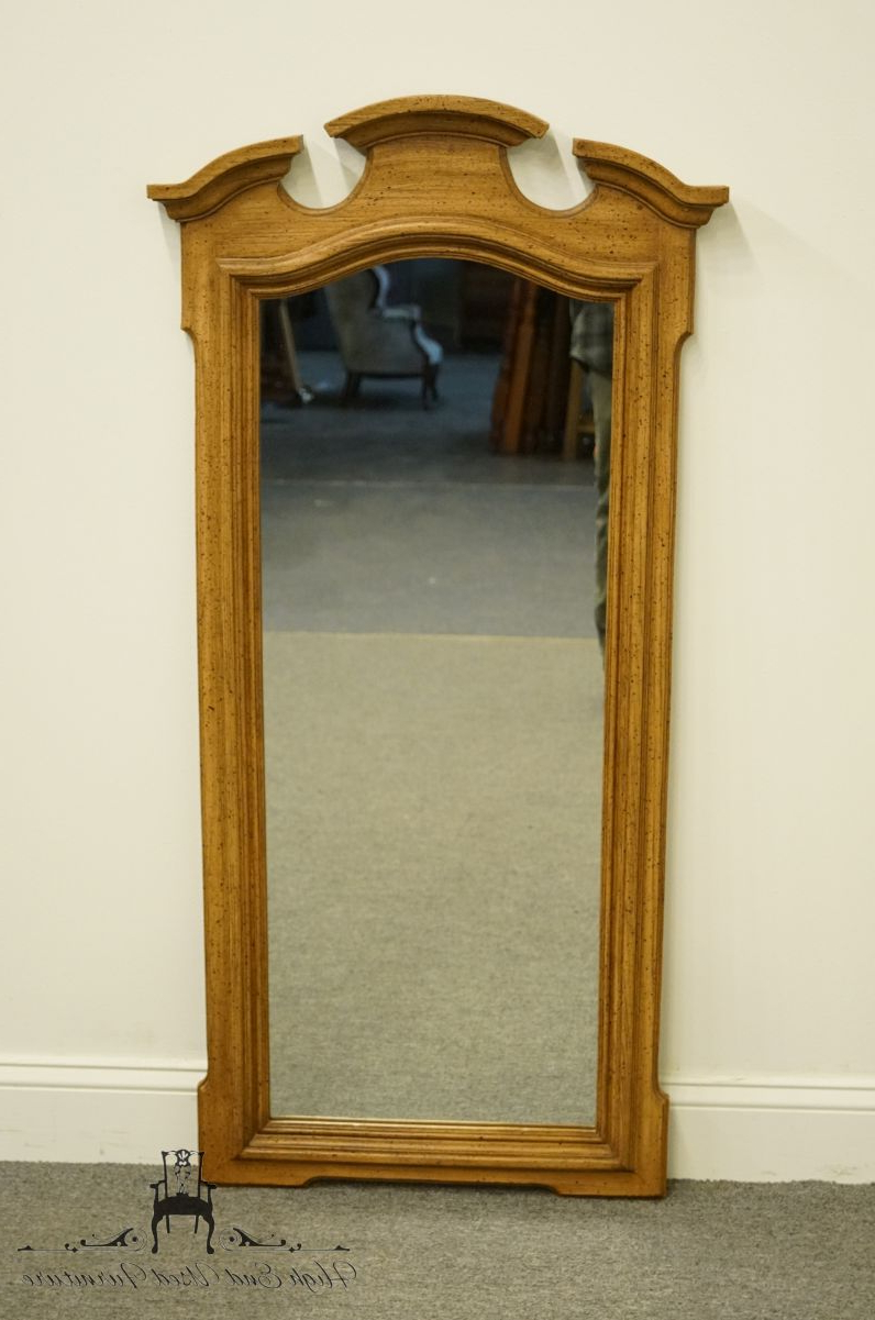 "Tuscan Style Wall Mirrors With Regard To Well Liked Stanley Furniture Italian Neoclassical Tuscan Style 59X34"" Dresser / Wall Mirror (View 19 of 20)"