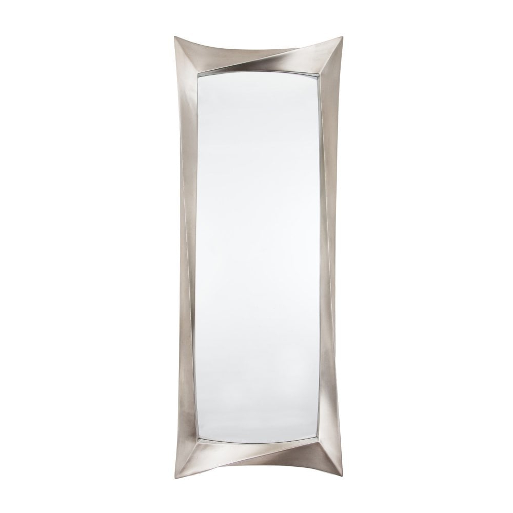 Uber Interiors Regarding Most Up To Date Silver Leaf Wall Mirrors (View 16 of 20)