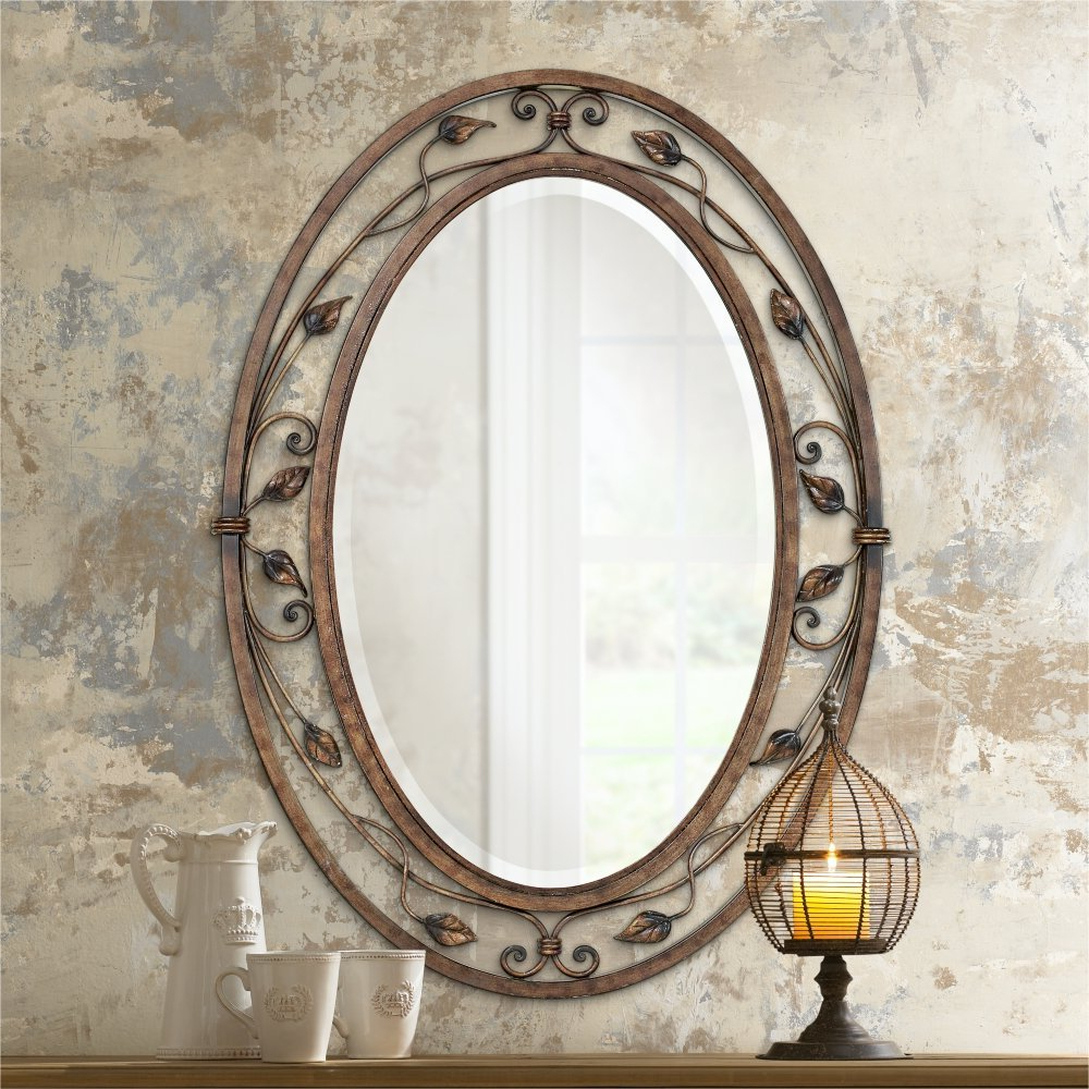 Unique Oval Wall Mirror Ideas Best Frameless Mirrors For Most Current Full Length Oval Wall Mirrors (View 10 of 20)