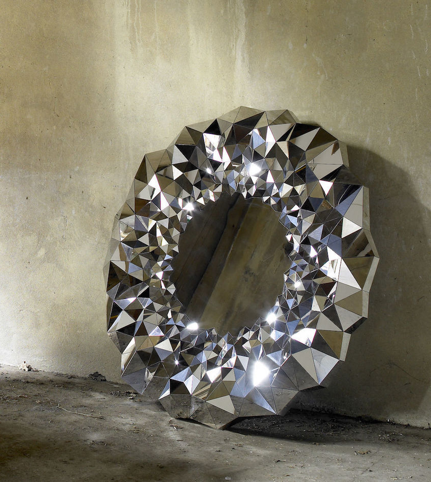 Unique Wall Mirrors Inside Well Known 10 Unique Wall Mirror Designs To Improve Your Home Decor (Gallery 6 of 20)