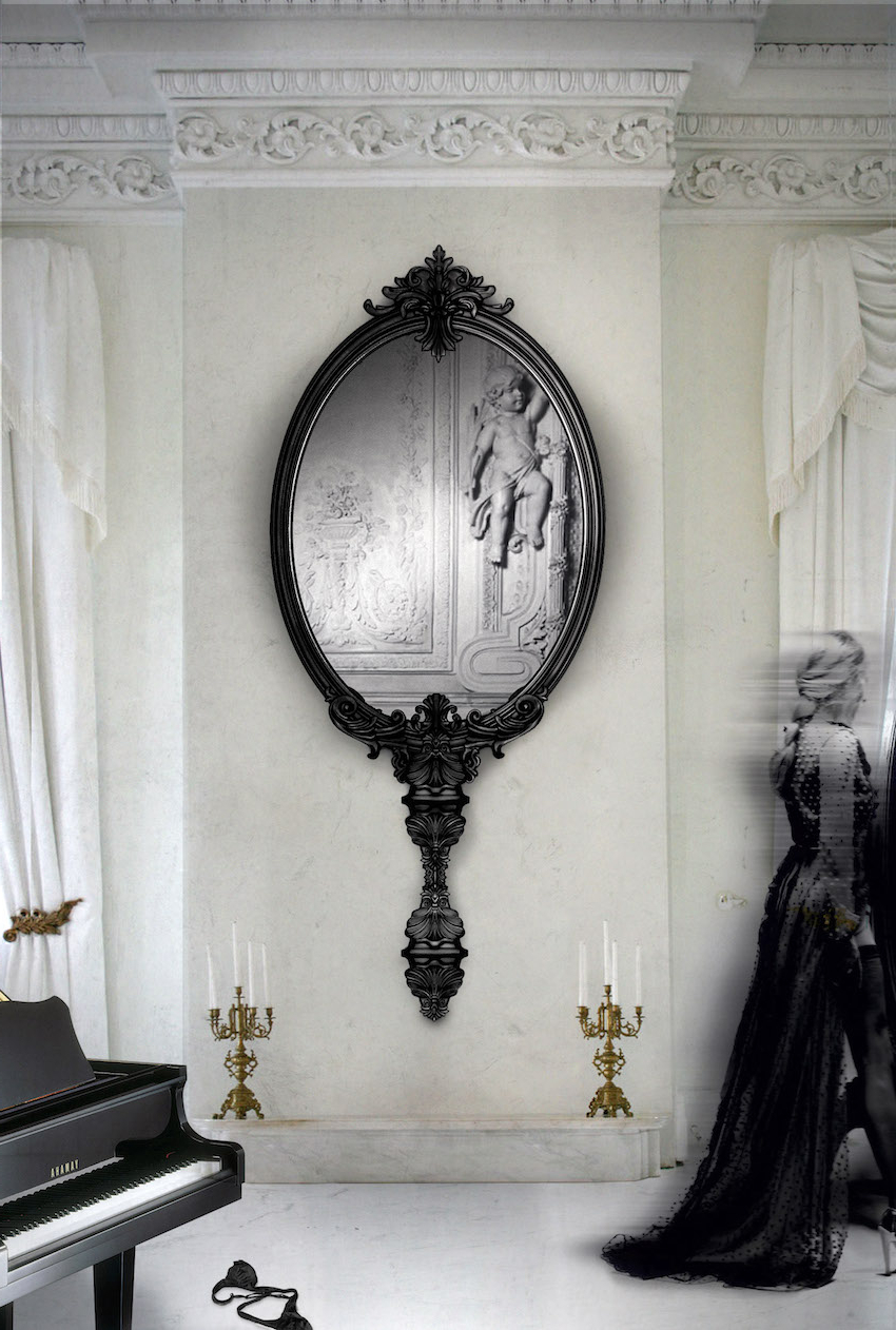 Unique Wall Mirrors With 2020 Unique Wall Mirror Comfortable Bold Inspiration Mirrors (Gallery 4 of 20)