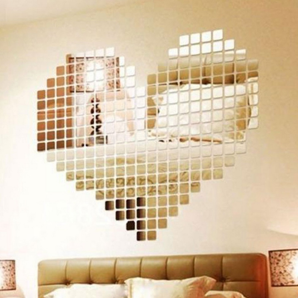[%Us $1.53 8% Off|100 Piece Self Adhesive Mirror Tile 3D Wall Sticker Decal  Mosaic Room Decor Stick On Modern Self Adhesive Mirror Tiles Stickers In For Widely Used Stick On Wall Mirror Tiles|Stick On Wall Mirror Tiles Within 2020 Us $1.53 8% Off|100 Piece Self Adhesive Mirror Tile 3D Wall Sticker Decal  Mosaic Room Decor Stick On Modern Self Adhesive Mirror Tiles Stickers In|Preferred Stick On Wall Mirror Tiles Within Us $1.53 8% Off|100 Piece Self Adhesive Mirror Tile 3D Wall Sticker Decal  Mosaic Room Decor Stick On Modern Self Adhesive Mirror Tiles Stickers In|Famous Us $ (View 1 of 20)