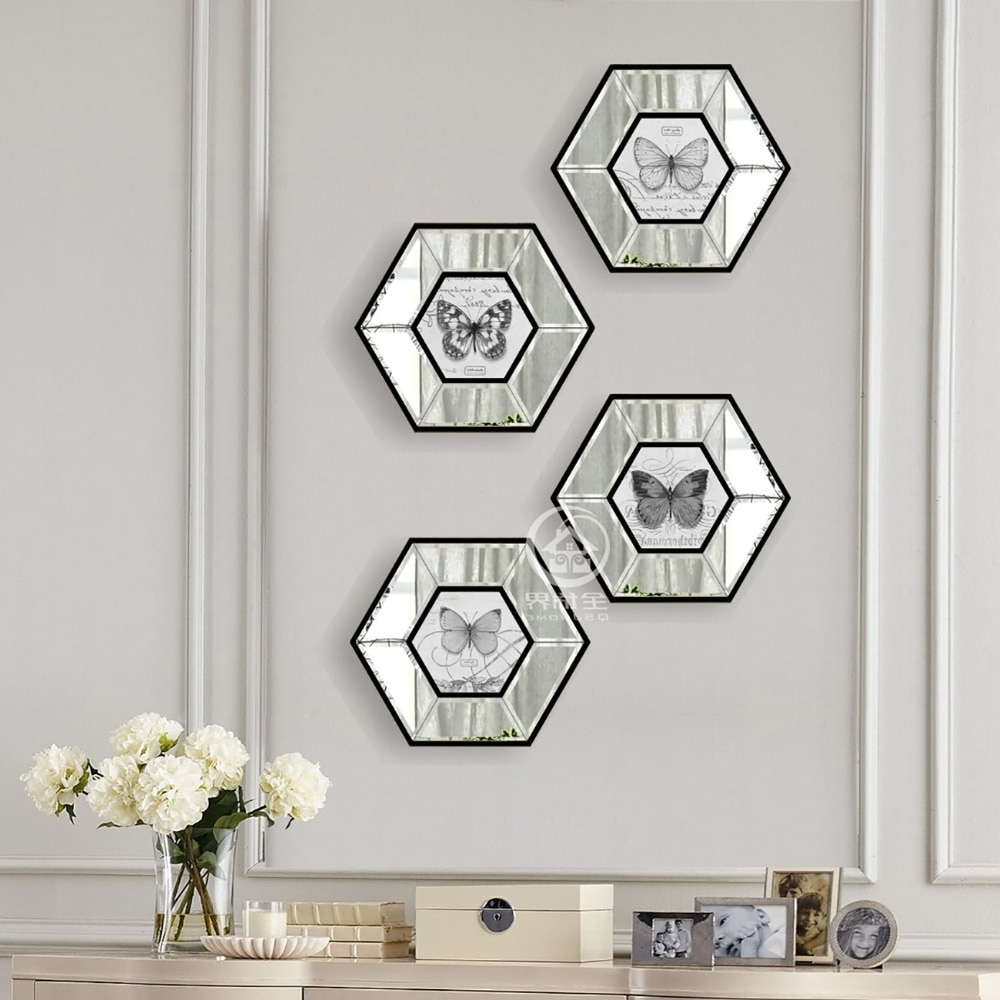 [%Us $124.2 8% Off|Hexagon Glass Wall Mirror Photo Frame Art Mirrored Picture Frame Console Mirror Set Wall Decorative Mirror In Frame From Home & Regarding Trendy Hexagon Wall Mirrors|Hexagon Wall Mirrors Throughout Most Current Us $124.2 8% Off|Hexagon Glass Wall Mirror Photo Frame Art Mirrored Picture Frame Console Mirror Set Wall Decorative Mirror In Frame From Home &|Favorite Hexagon Wall Mirrors Intended For Us $124.2 8% Off|Hexagon Glass Wall Mirror Photo Frame Art Mirrored Picture Frame Console Mirror Set Wall Decorative Mirror In Frame From Home &|Preferred Us $ (View 8 of 20)