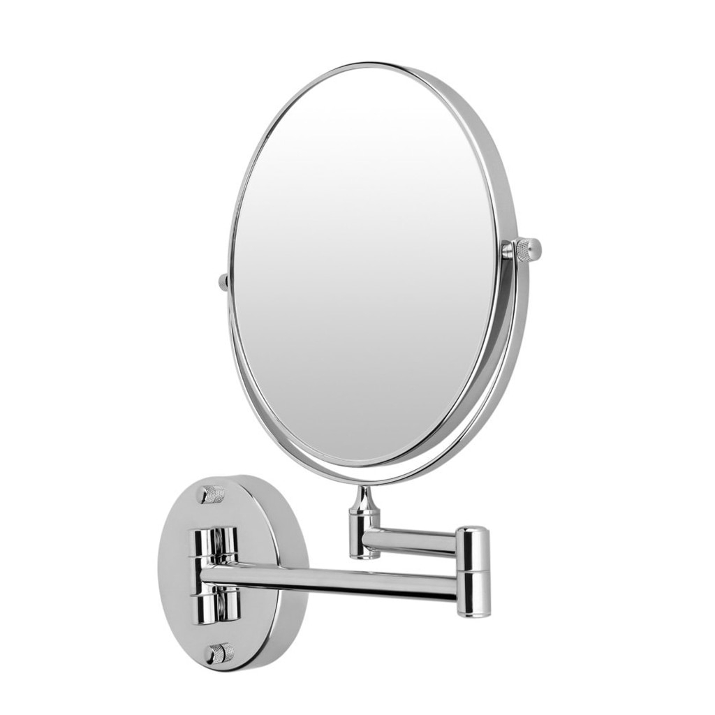 [%us $15.99 12% Off|hthl Chrome Round Extending 8 Inches Cosmetic Wall  Mounted Make Up Mirror Shaving Bathroom Mirror 3x Magnification Makeup  Mirror In Within Most Popular Extending Wall Mirrors|extending Wall Mirrors Within Newest Us $15.99 12% Off|hthl Chrome Round Extending 8 Inches Cosmetic Wall  Mounted Make Up Mirror Shaving Bathroom Mirror 3x Magnification Makeup  Mirror In|most Popular Extending Wall Mirrors Regarding Us $15.99 12% Off|hthl Chrome Round Extending 8 Inches Cosmetic Wall  Mounted Make Up Mirror Shaving Bathroom Mirror 3x Magnification Makeup  Mirror In|best And Newest Us $ (View 5 of 20)