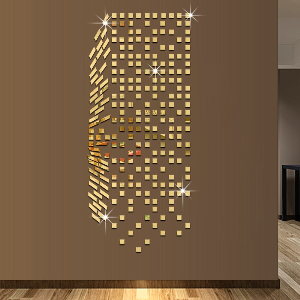 [%us $17.09 10% Off|meya Gold/ Silver Mosaic Wall Mirror Sticker, Decals For Living Room Bedroom Kids Room Decor 3d Acrylic Wall Mirror Sticker In Wall Intended For Famous Wall Mirror Decals|wall Mirror Decals Within Recent Us $17.09 10% Off|meya Gold/ Silver Mosaic Wall Mirror Sticker, Decals For Living Room Bedroom Kids Room Decor 3d Acrylic Wall Mirror Sticker In Wall|widely Used Wall Mirror Decals With Us $17.09 10% Off|meya Gold/ Silver Mosaic Wall Mirror Sticker, Decals For Living Room Bedroom Kids Room Decor 3d Acrylic Wall Mirror Sticker In Wall|famous Us $ (View 16 of 20)