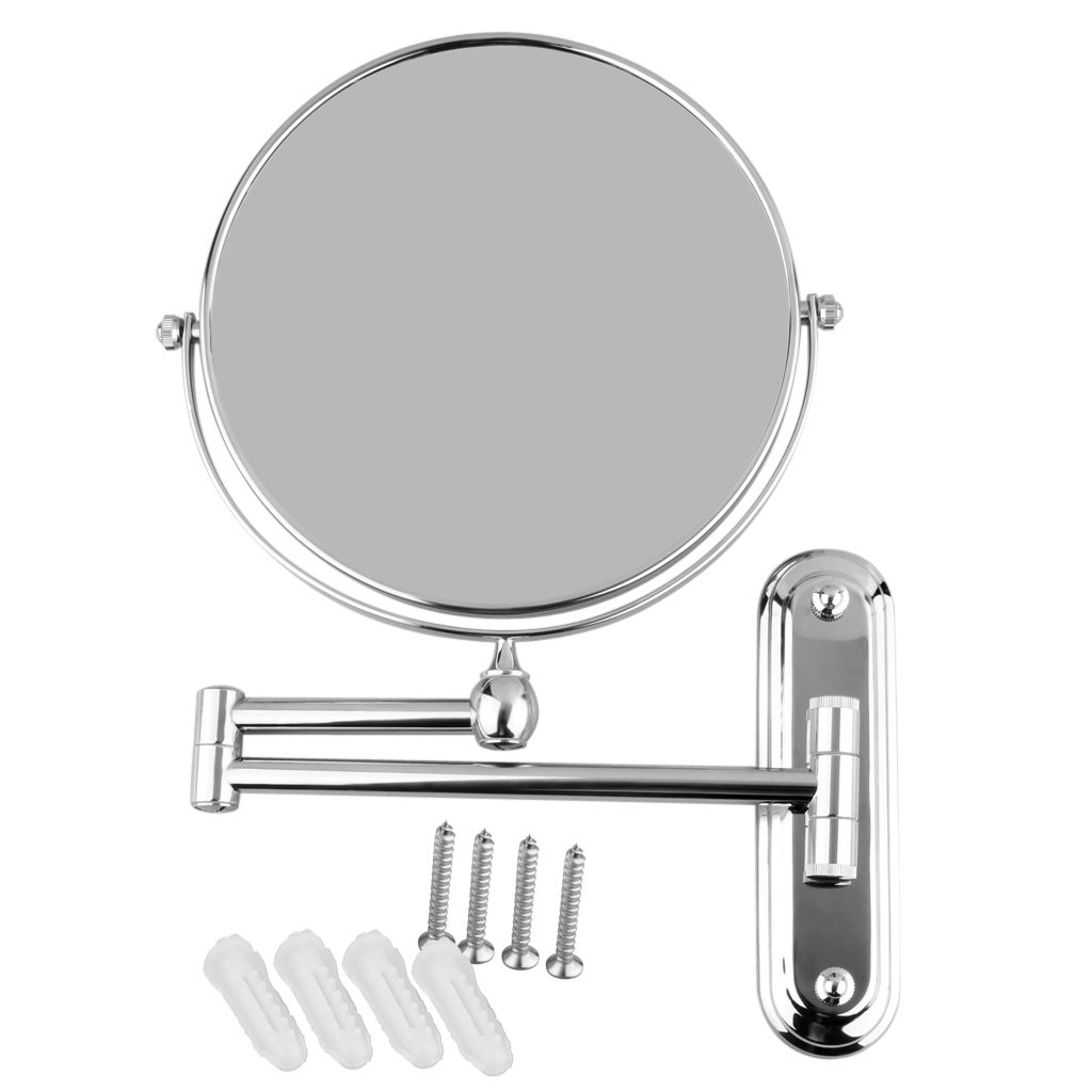 [%us $17.71 6% Off|yost Silver Extending 8 Inches Cosmetic Wall Mounted Make  Up Mirror Shaving Bathroom Mirror 3x Magnification In Makeup Mirrors From Throughout Current Cosmetic Wall Mirrors|cosmetic Wall Mirrors Intended For Newest Us $17.71 6% Off|yost Silver Extending 8 Inches Cosmetic Wall Mounted Make  Up Mirror Shaving Bathroom Mirror 3x Magnification In Makeup Mirrors From|most Current Cosmetic Wall Mirrors For Us $17.71 6% Off|yost Silver Extending 8 Inches Cosmetic Wall Mounted Make  Up Mirror Shaving Bathroom Mirror 3x Magnification In Makeup Mirrors From|most Recent Us $ (View 10 of 20)
